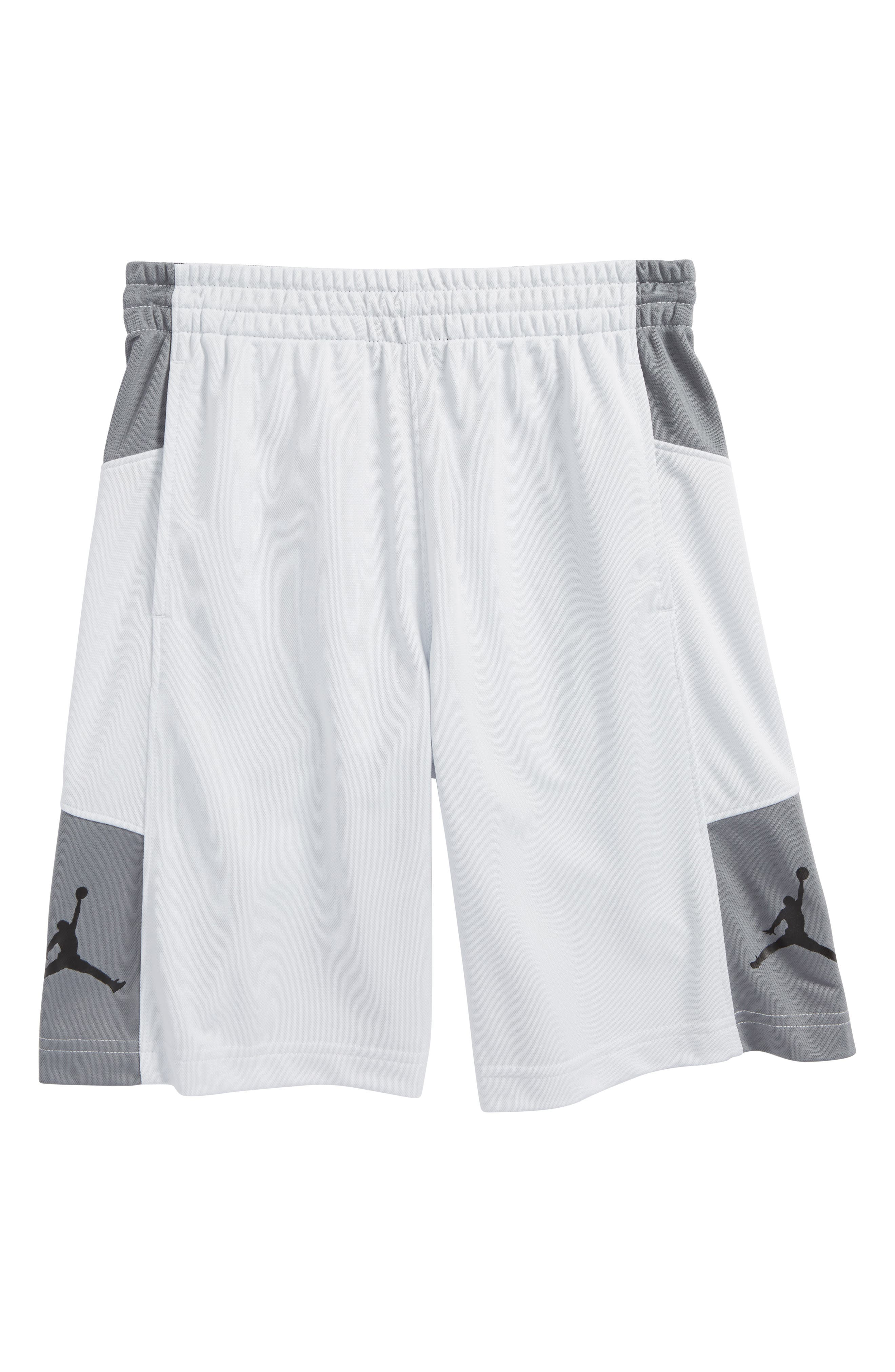 Jordan Elevate Shorts,                         Main,                         color, Pure Platinum