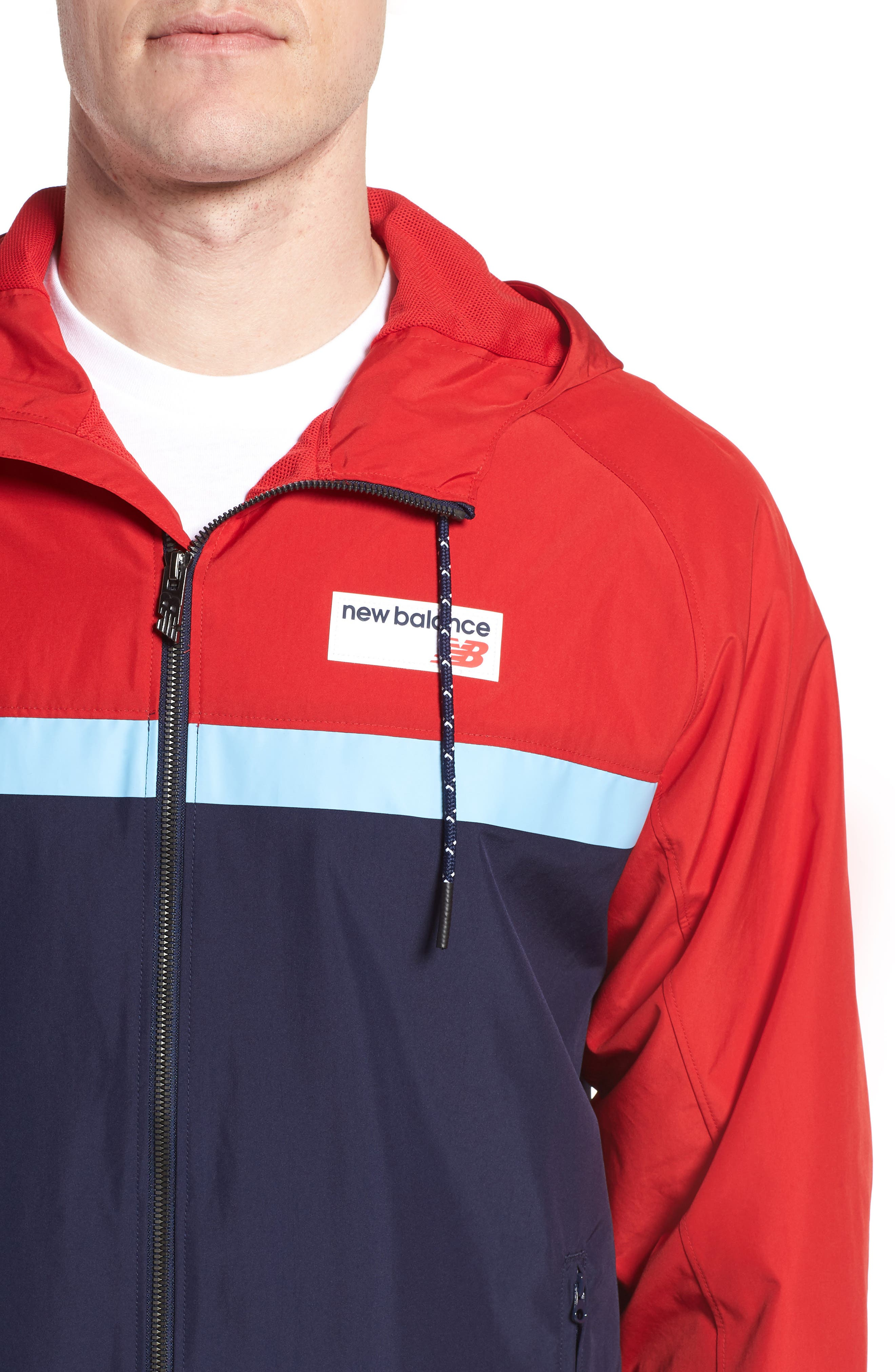 Athletics 78 Jacket,                             Alternate thumbnail 4, color,                             Team Red