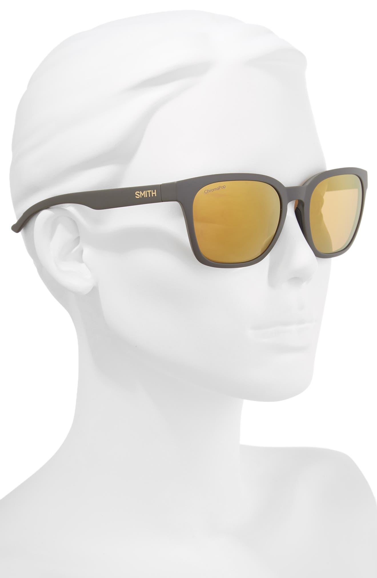 Founder 55mm ChromaPop<sup>™</sup> Polarized Sunglasses,                             Alternate thumbnail 2, color,                             Matte Gravy