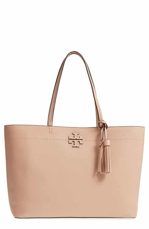 16f859f68f07 Tory Burch McGraw Leather Laptop Tote
