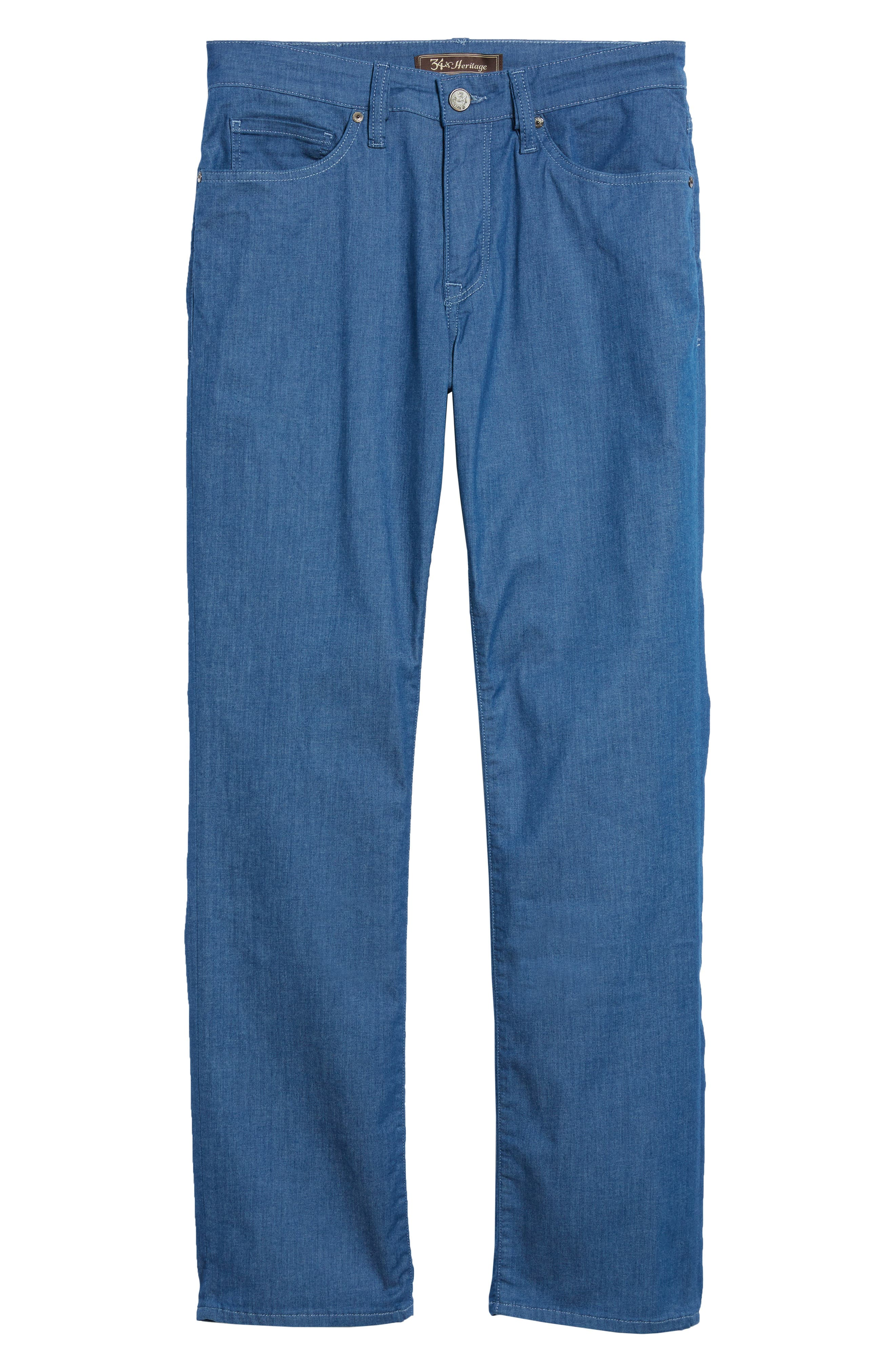 Alternate Image 6  - 34 Heritage Charisma Relaxed Fit Jeans (Mid Maui Denim)