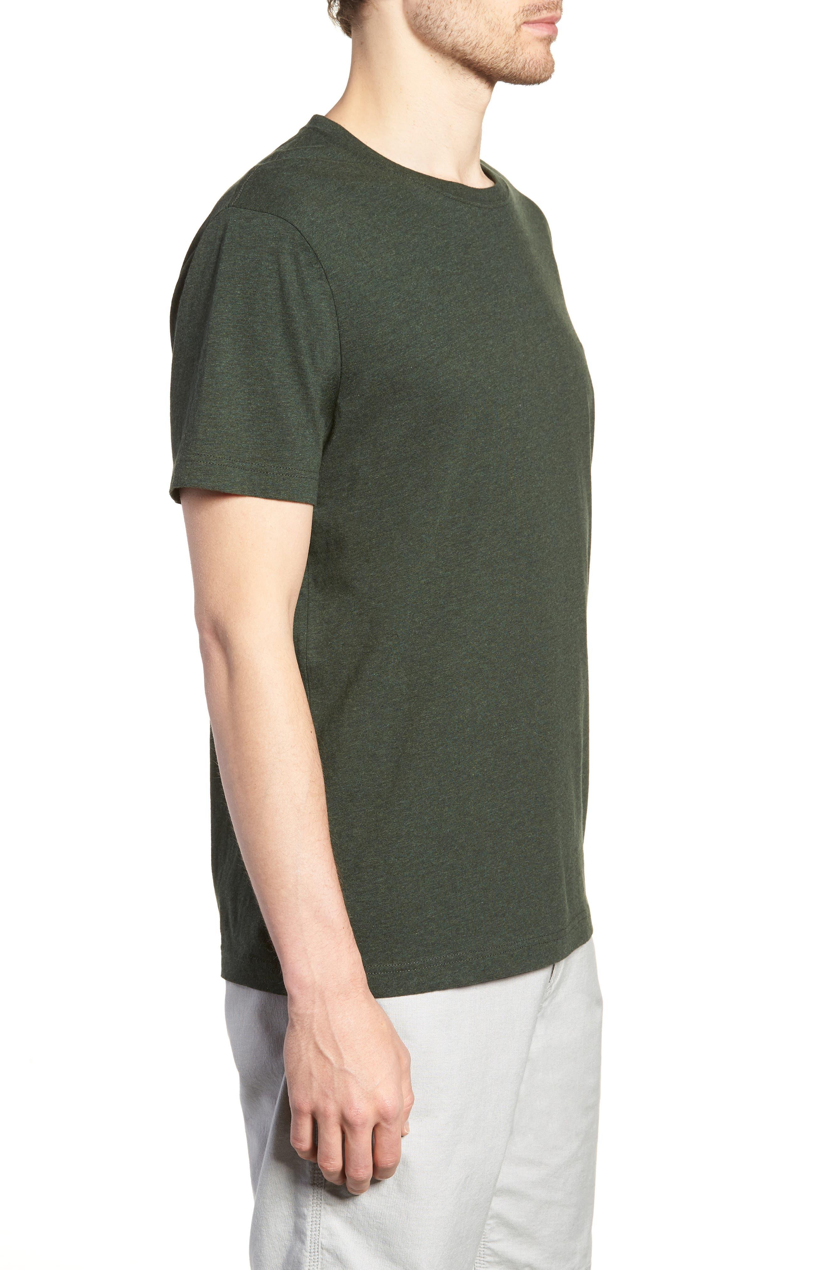 The Gunn T-Shirt,                             Alternate thumbnail 3, color,                             Moss
