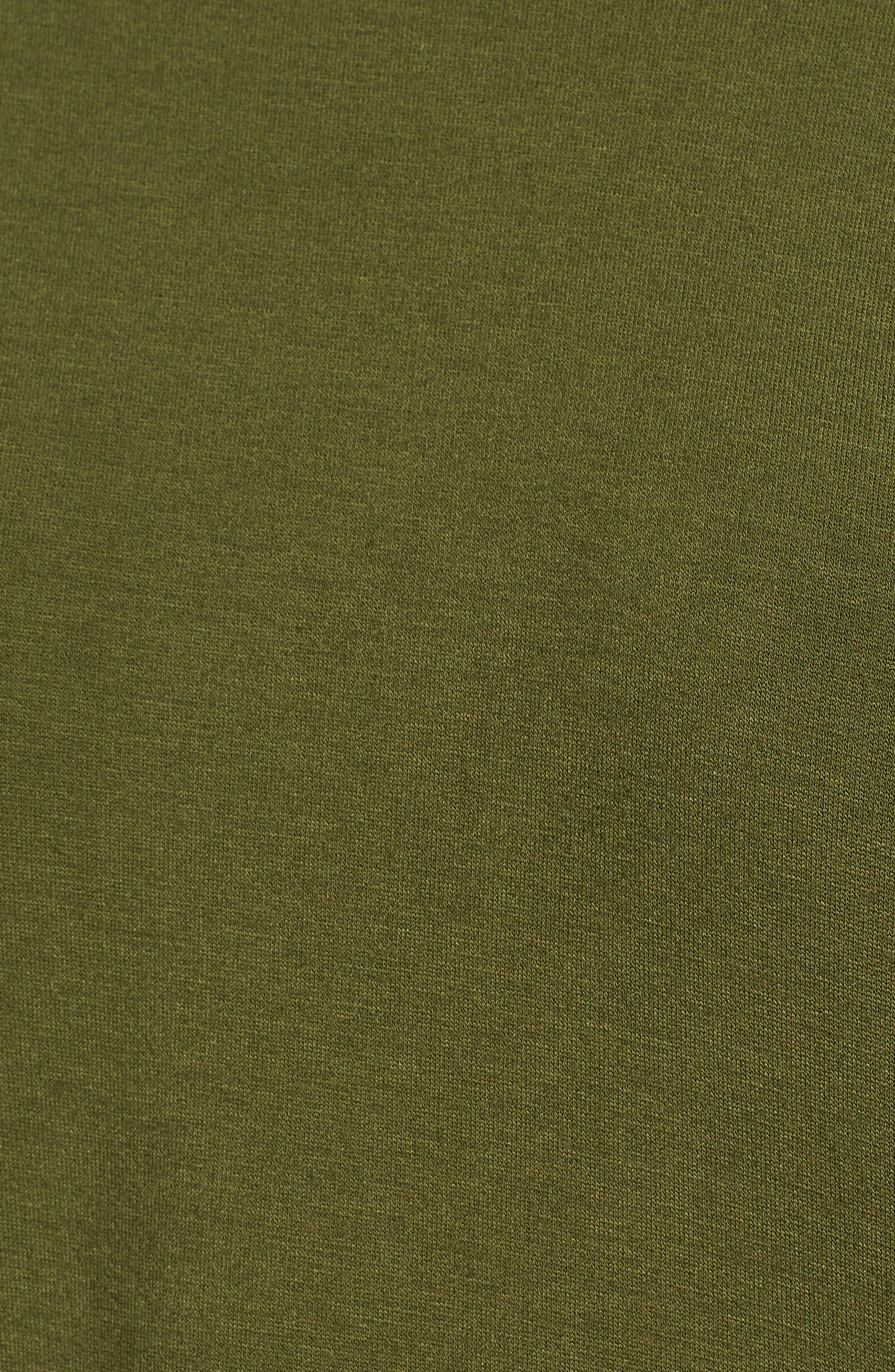 Raglan Sweatshirt,                             Alternate thumbnail 6, color,                             Olive