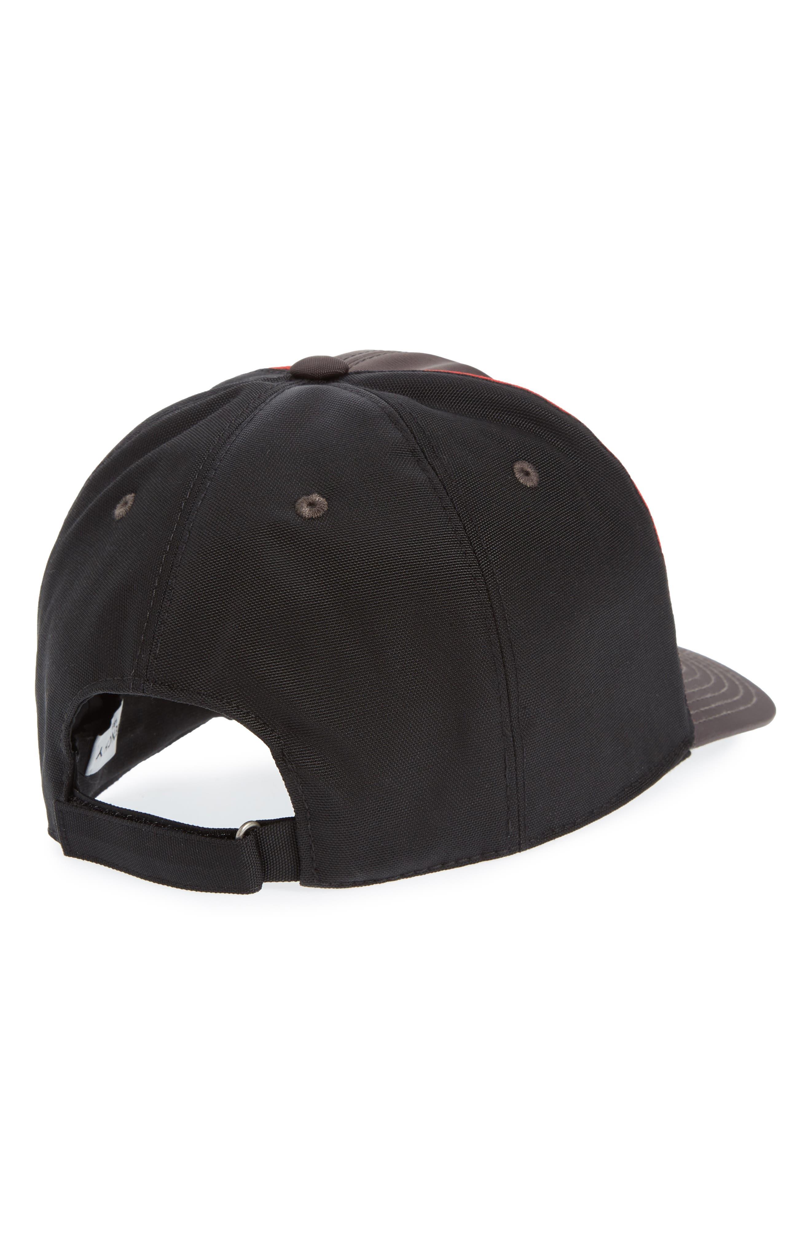Two-Tone Ball Cap,                             Alternate thumbnail 2, color,                             Black/ Grey