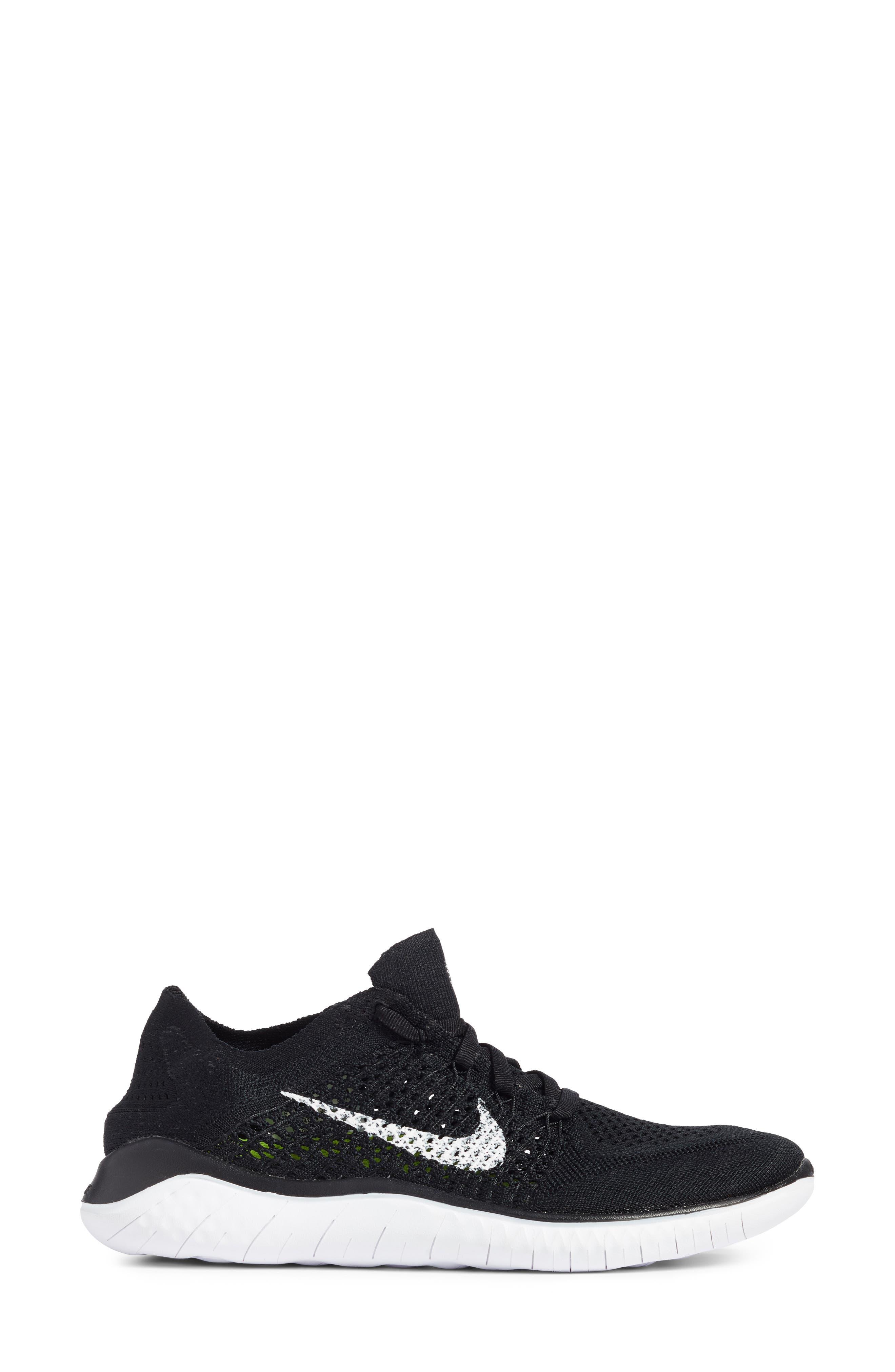 Alternate Image 3  - Nike Free RN Flyknit 2018 Running Shoe (Women)