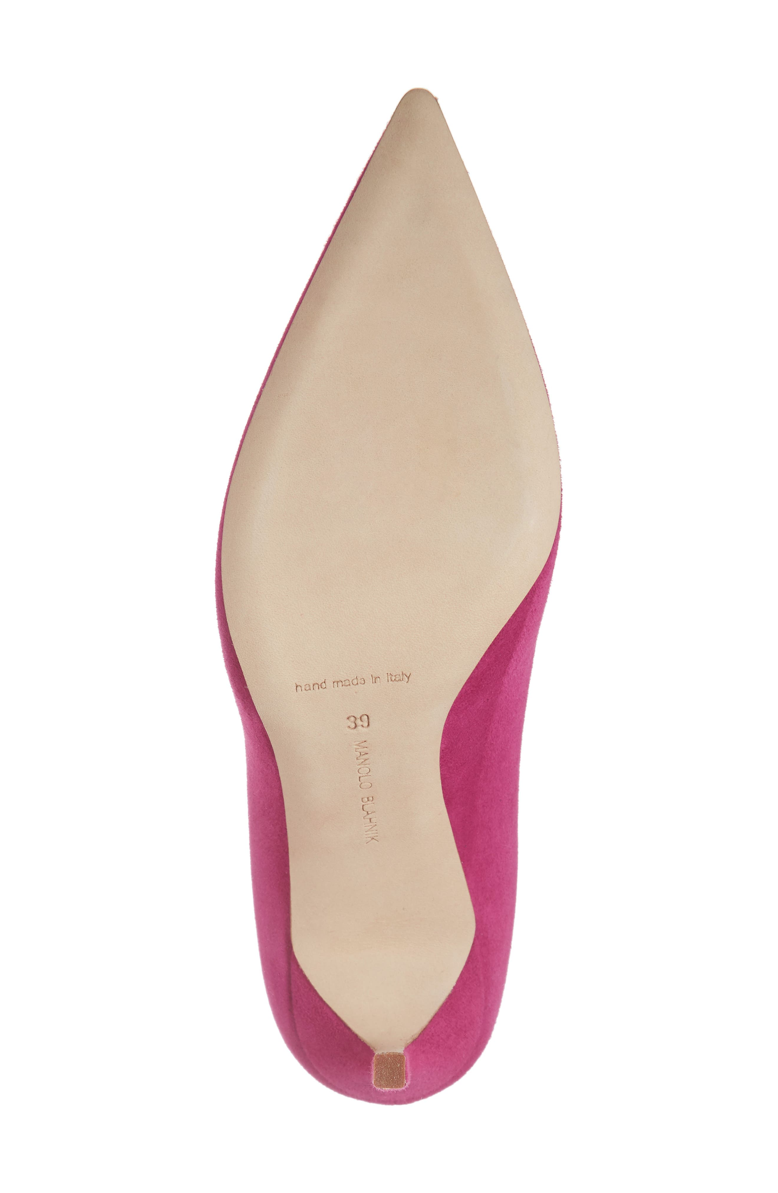 'BB' Pointy Toe Pump,                             Alternate thumbnail 6, color,                             Magenta
