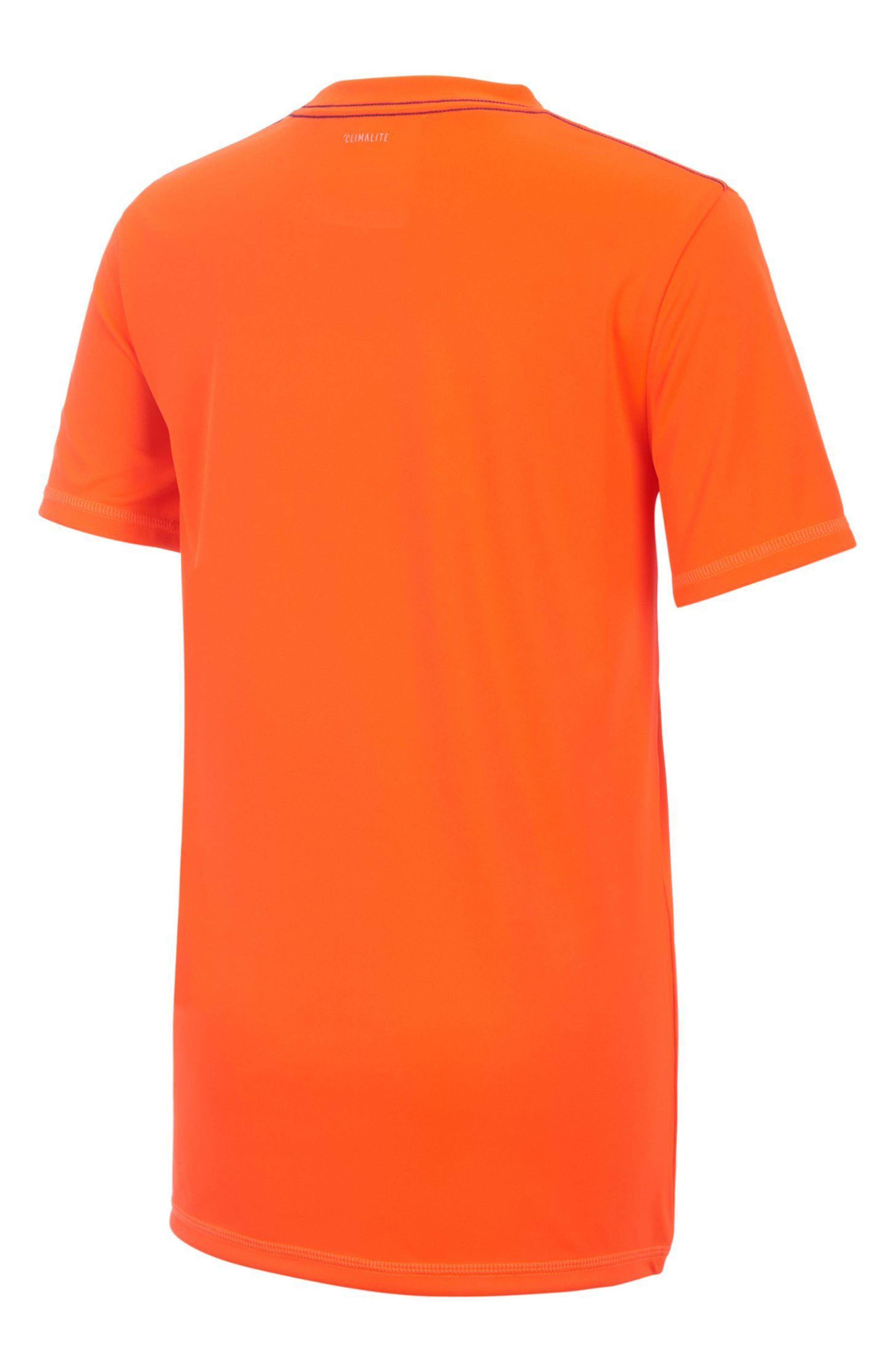 Logo T-Shirt,                             Alternate thumbnail 2, color,                             Red Orange
