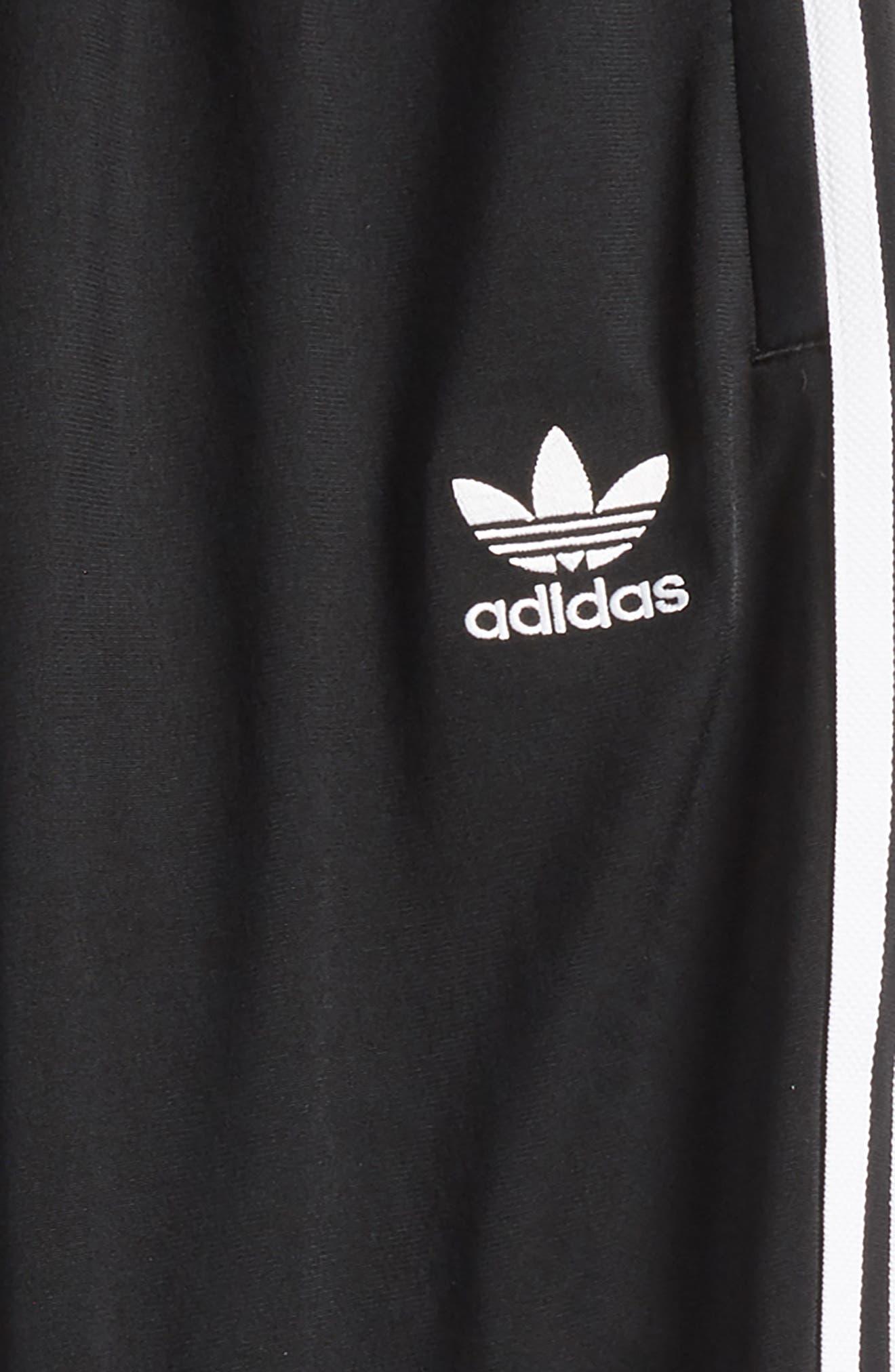 SST Track Pants,                             Alternate thumbnail 2, color,                             Black/ White
