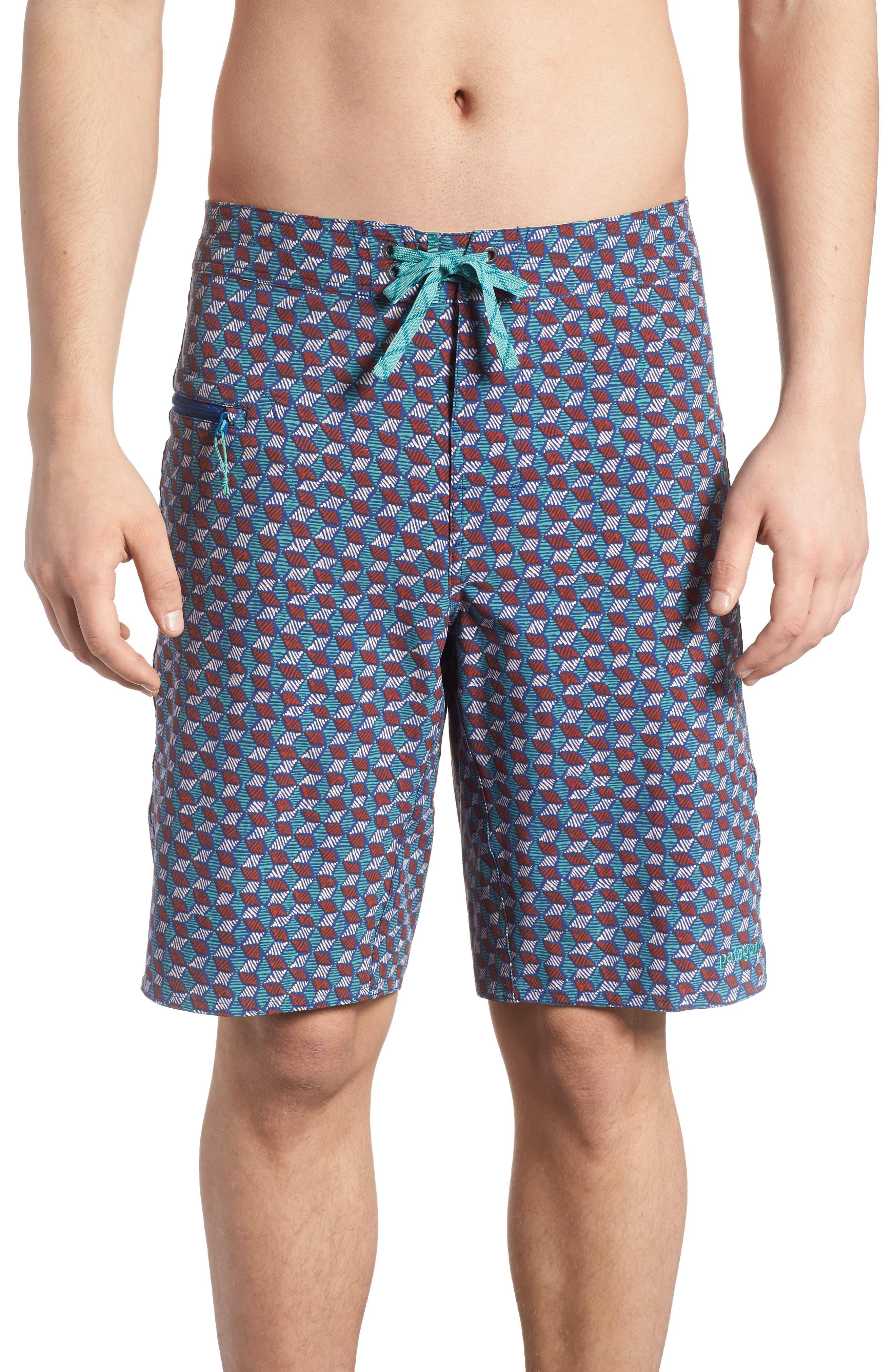Wavefarer Board Shorts,                         Main,                         color, Superior Blue