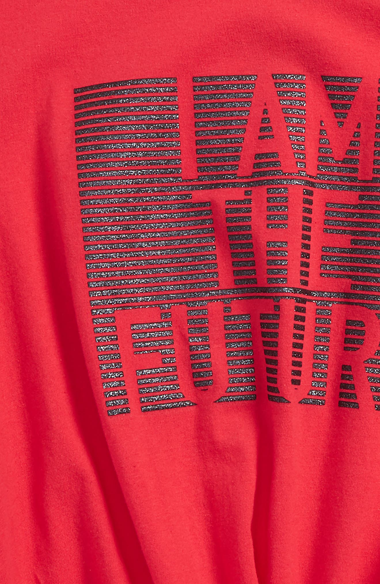 I Am The Future Graphic Tee,                             Alternate thumbnail 2, color,                             Red