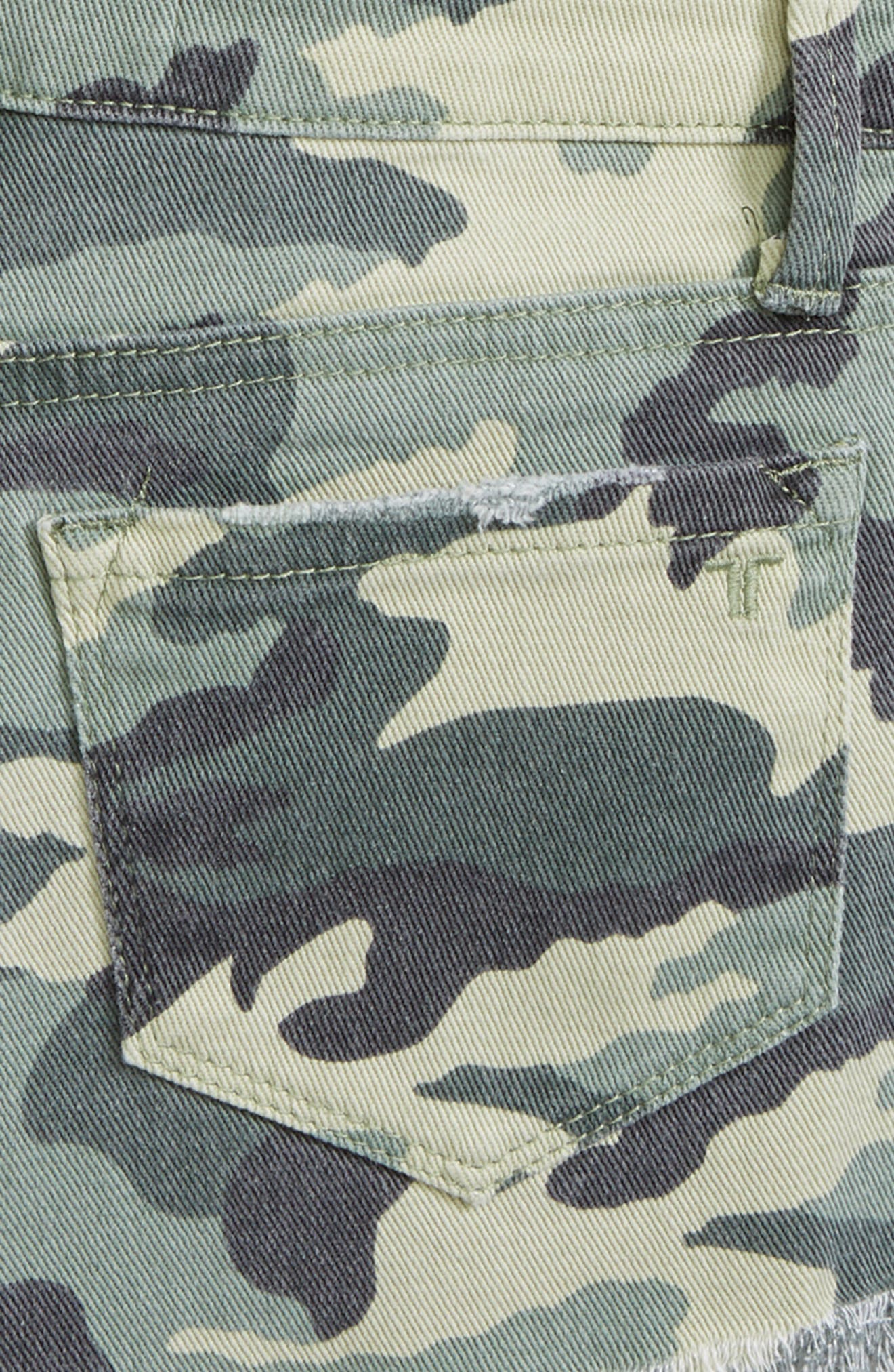 Camo Shorts,                             Alternate thumbnail 3, color,                             Green