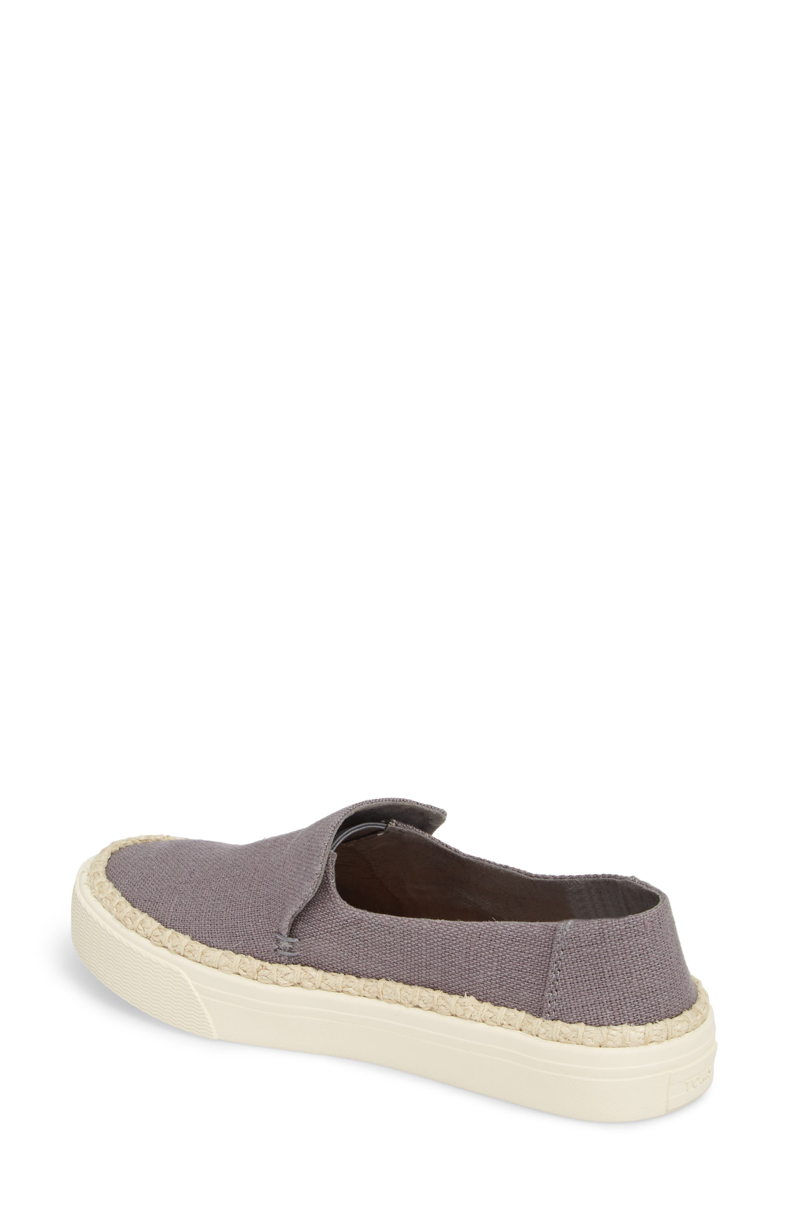 Sunset Slip-On,                             Alternate thumbnail 2, color,                             Shade Heritage Canvas/ Rope