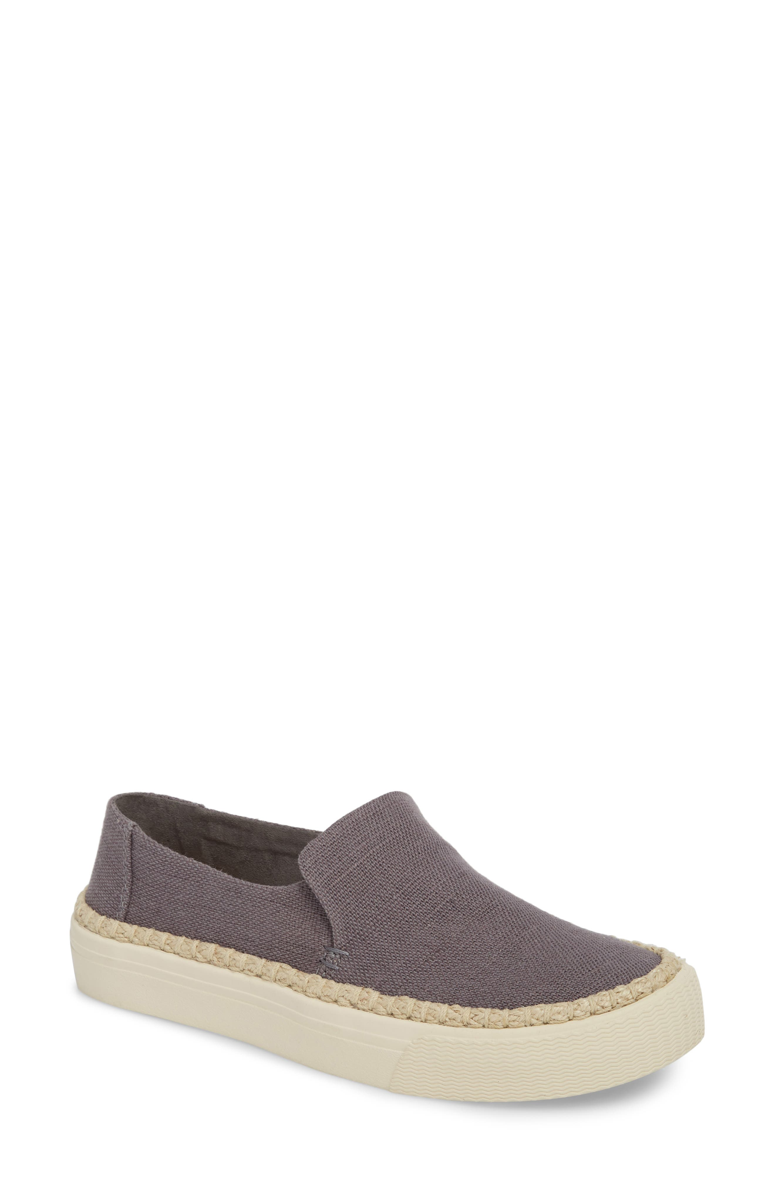 Sunset Slip-On,                         Main,                         color, Shade Heritage Canvas/ Rope