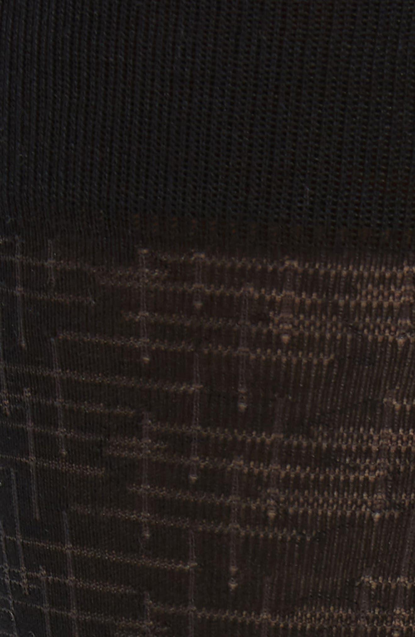 Crosshatch Socks,                             Alternate thumbnail 2, color,                             Black/ Charcoal