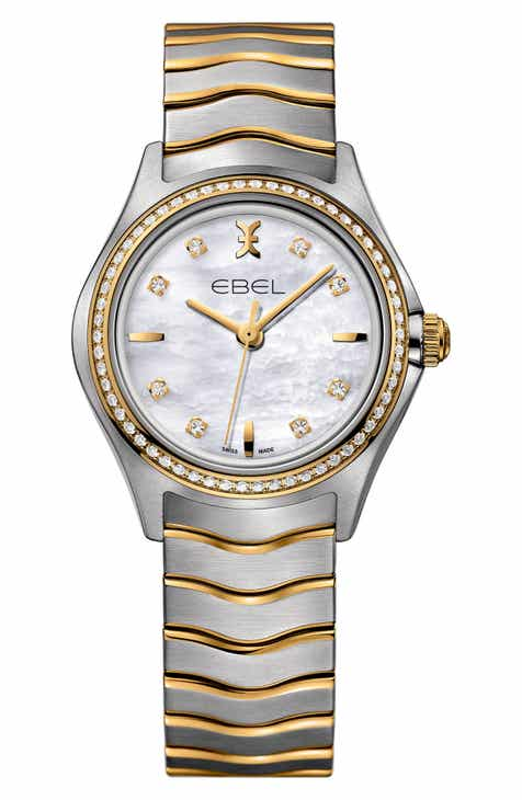 f4817373ebcfb8 EBEL Wave Bracelet Watch