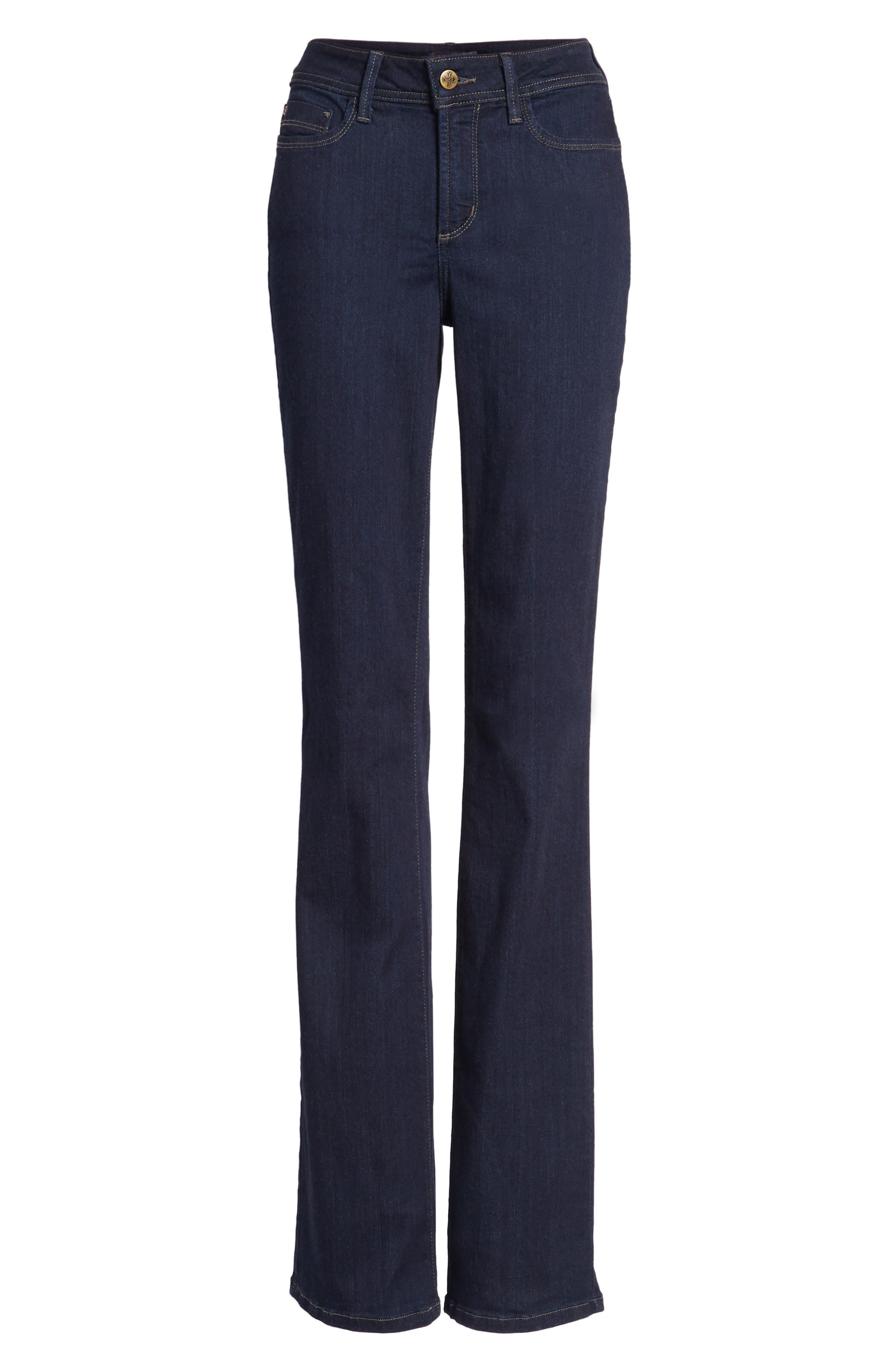 Billie Mini Bootcut Jeans,                             Alternate thumbnail 7, color,                             Mabel