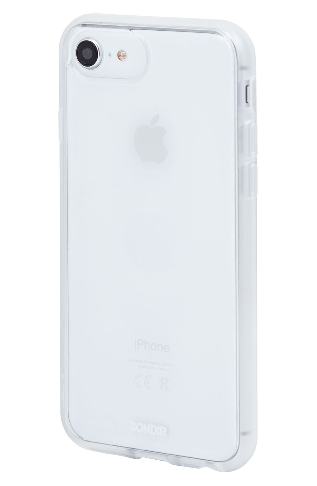 Clear iPhone 6/6s/7/8 & 6/6s/7/8 Plus Case,                             Alternate thumbnail 2, color,                             Clear