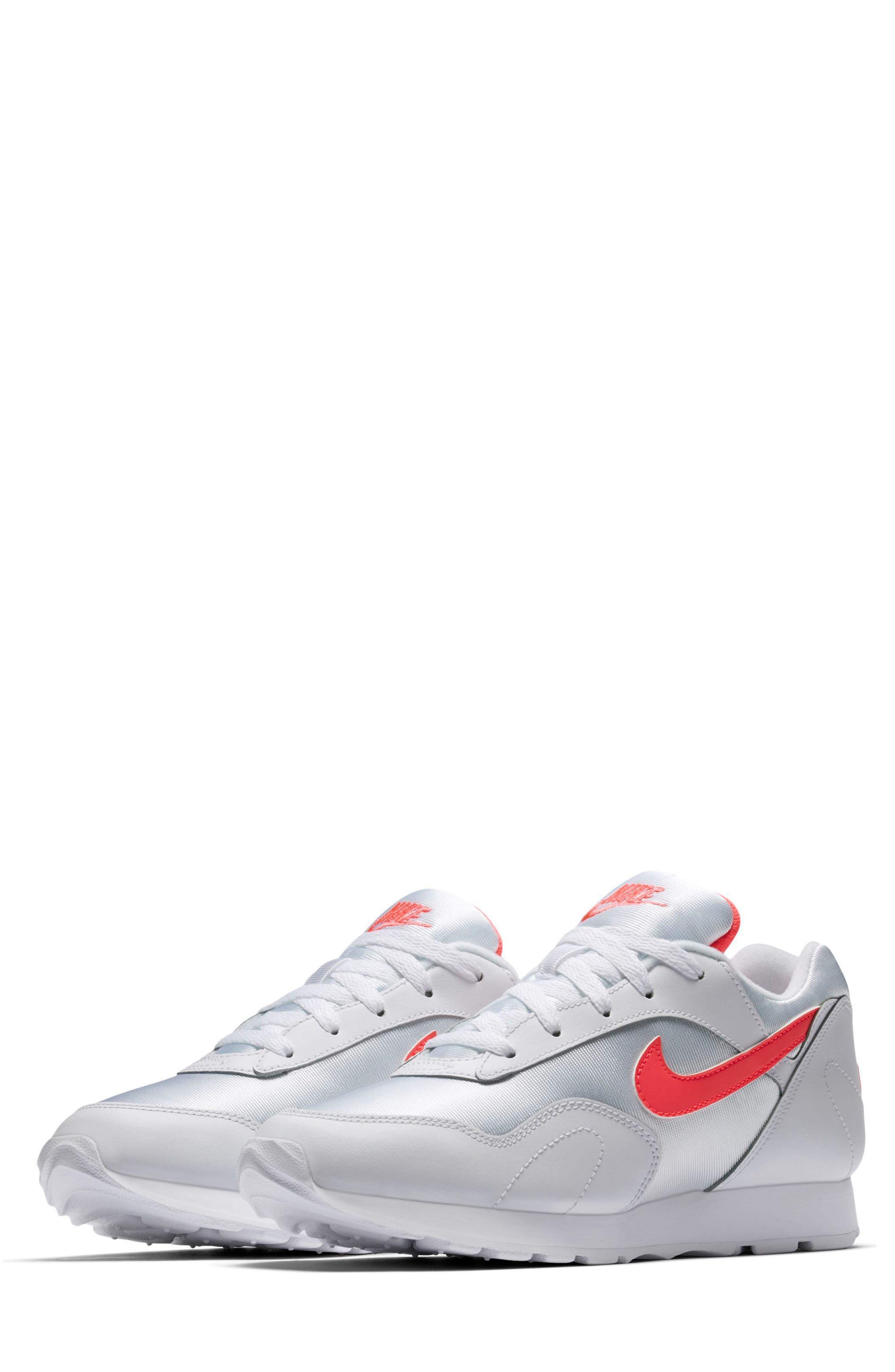 Outburst OG Sneaker,                         Main,                         color, White/ Solar Red