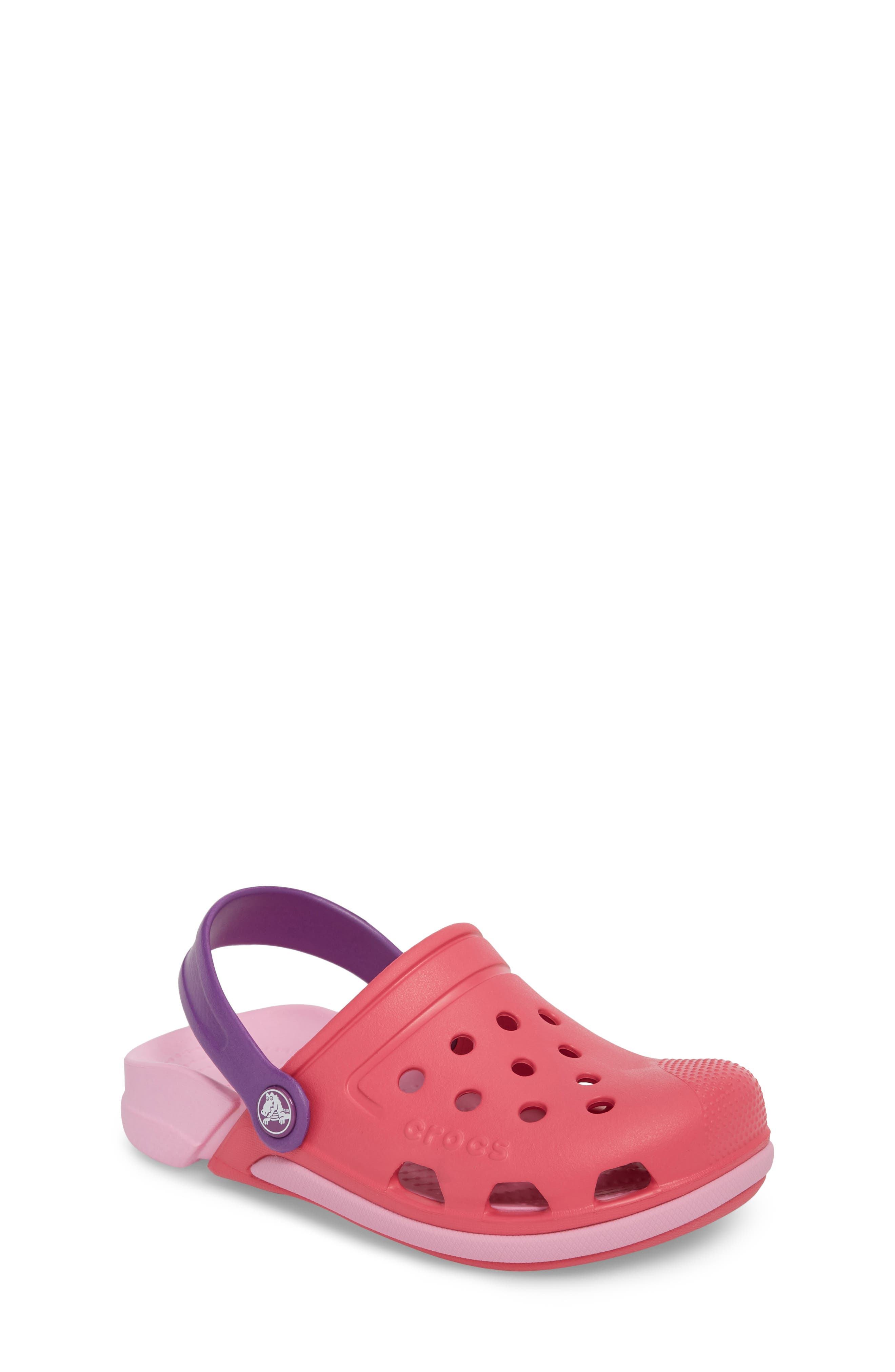 Electro III Slip-On,                         Main,                         color, Paradise Pink/ Carnation