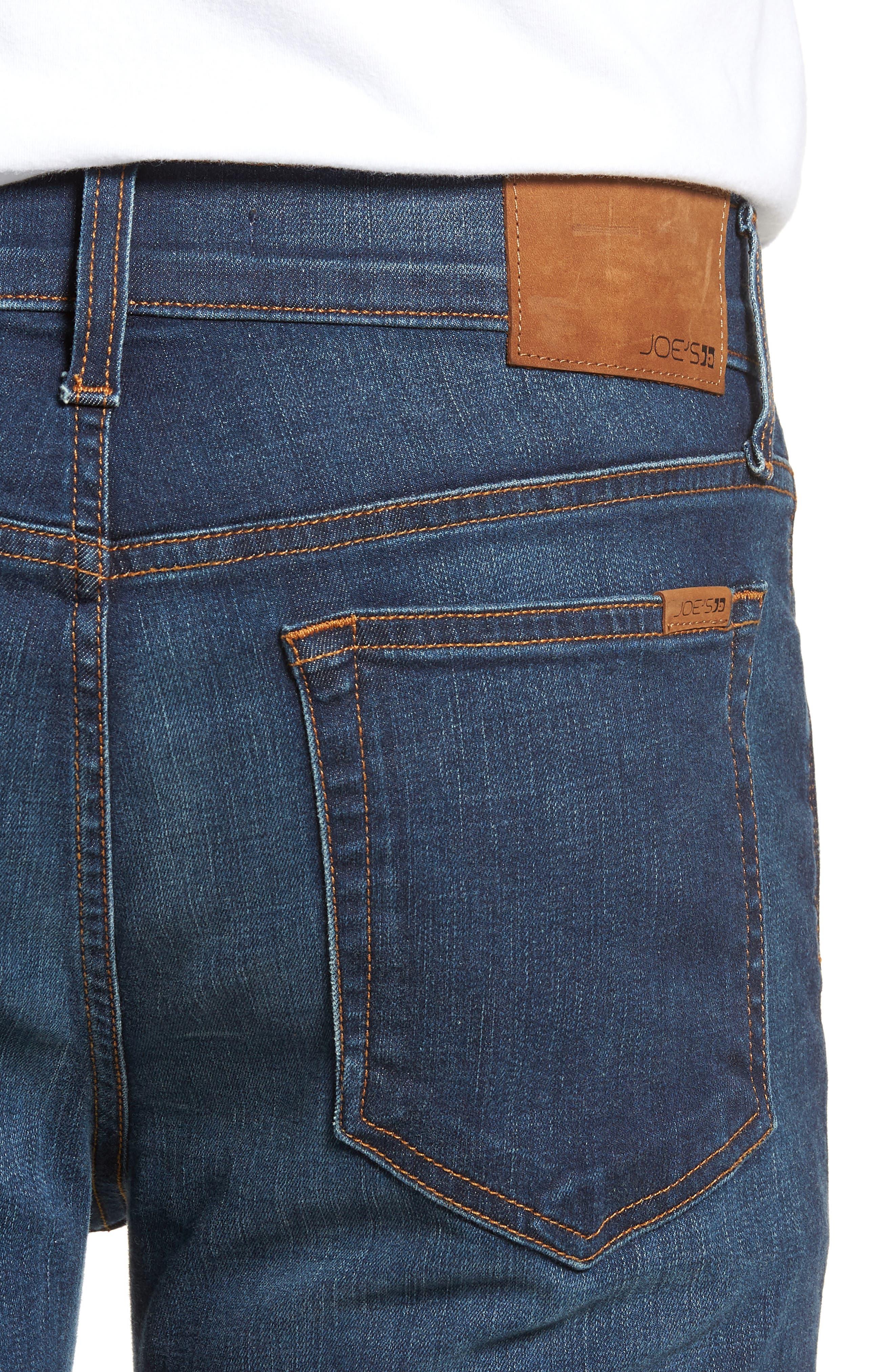 Slim Fit Jeans,                             Alternate thumbnail 4, color,                             Brett