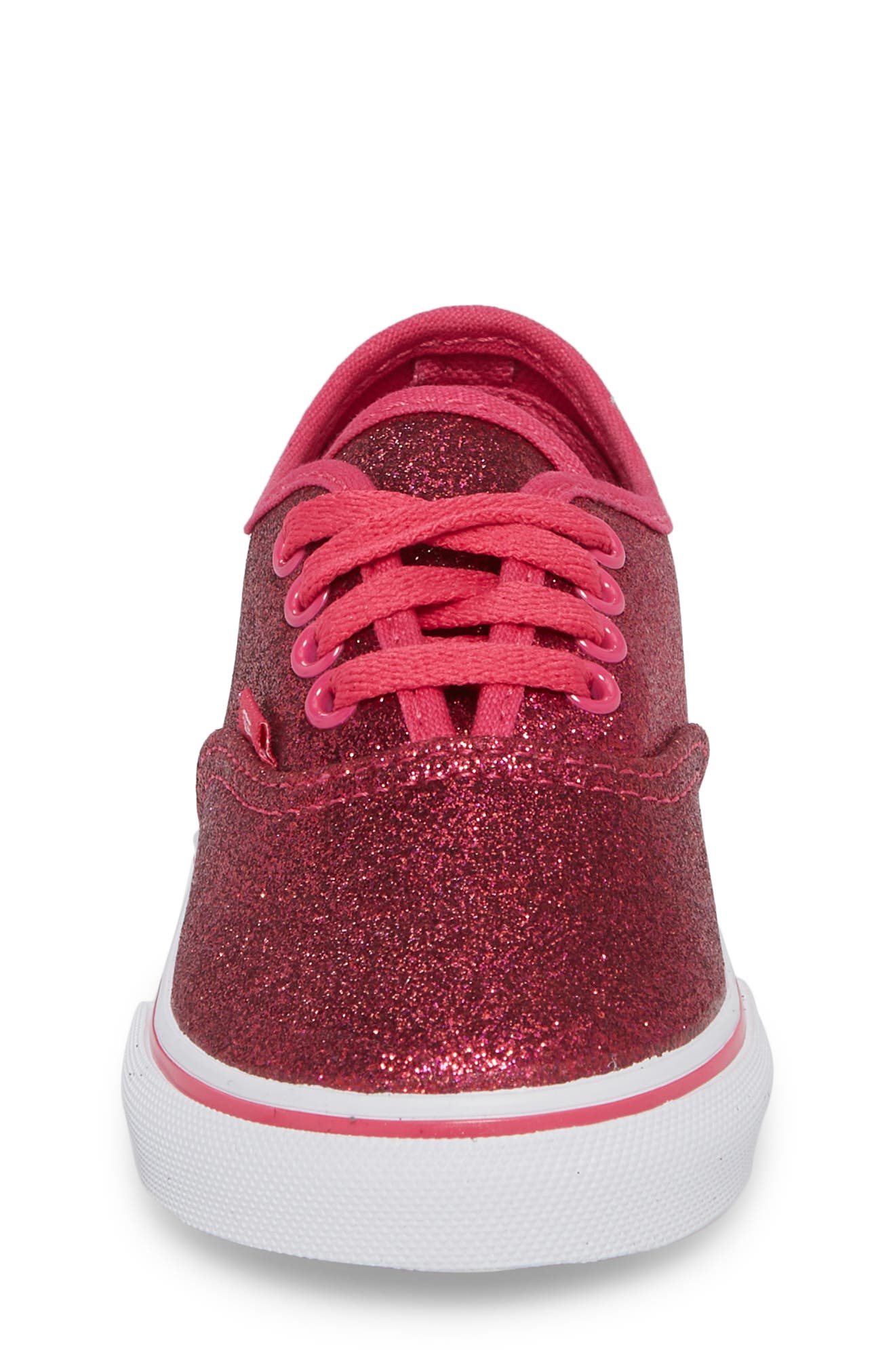 Authentic Sneaker,                             Alternate thumbnail 4, color,                             Rosy Glitter