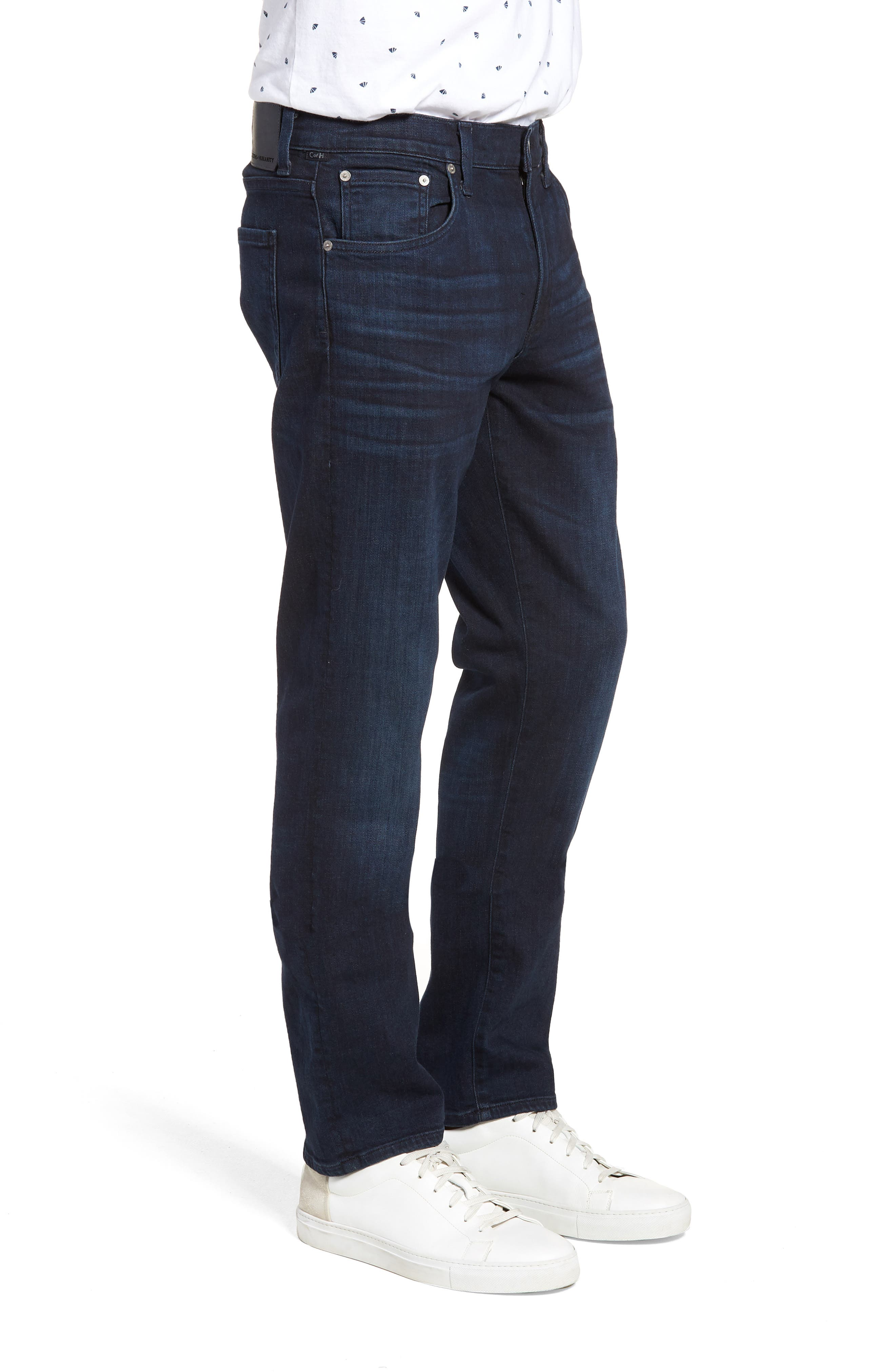 Gage Slim Straight Leg Jeans,                             Alternate thumbnail 3, color,                             Geary