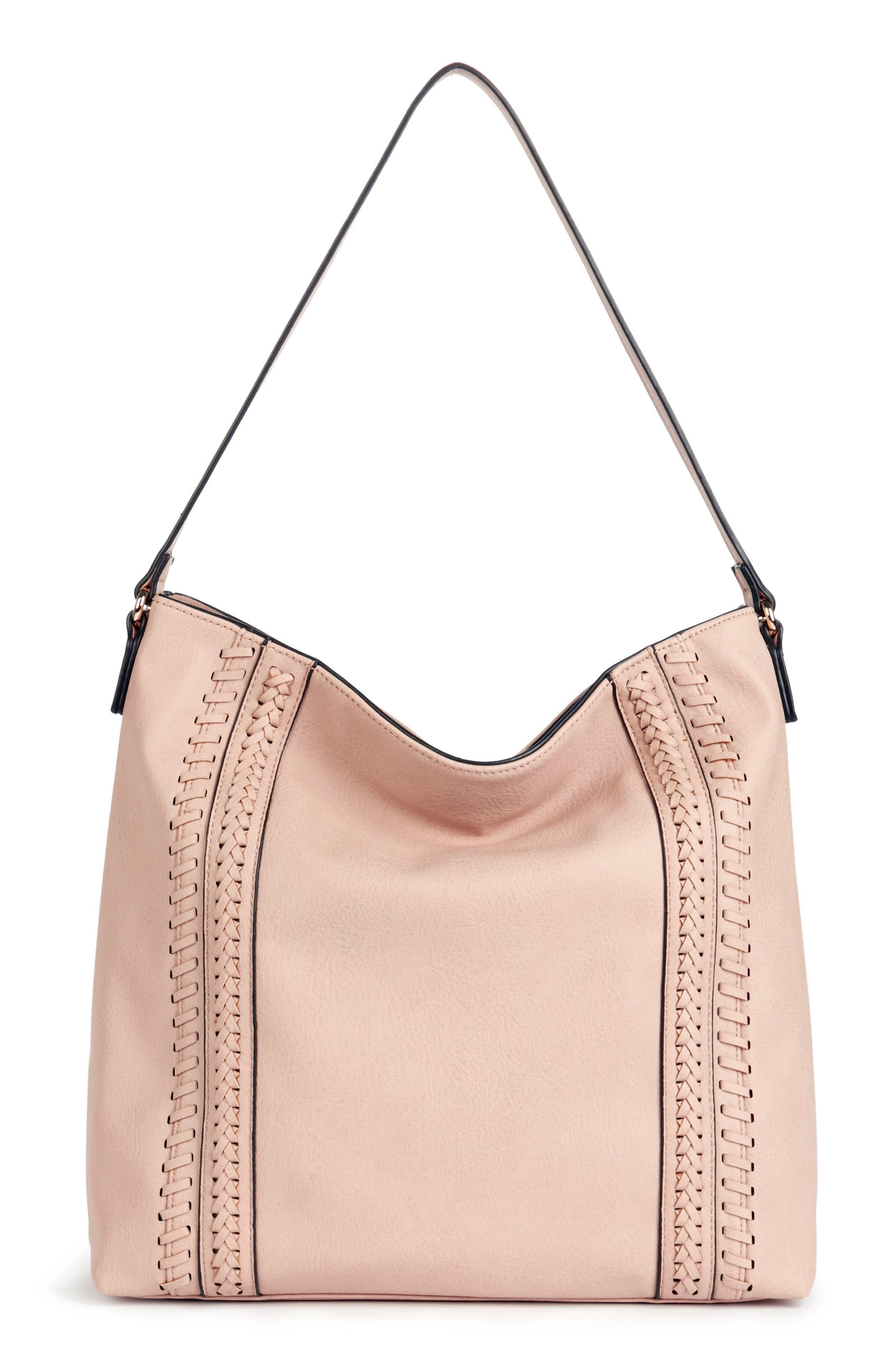 Sole Society Destin Faux Leather Hobo Bag