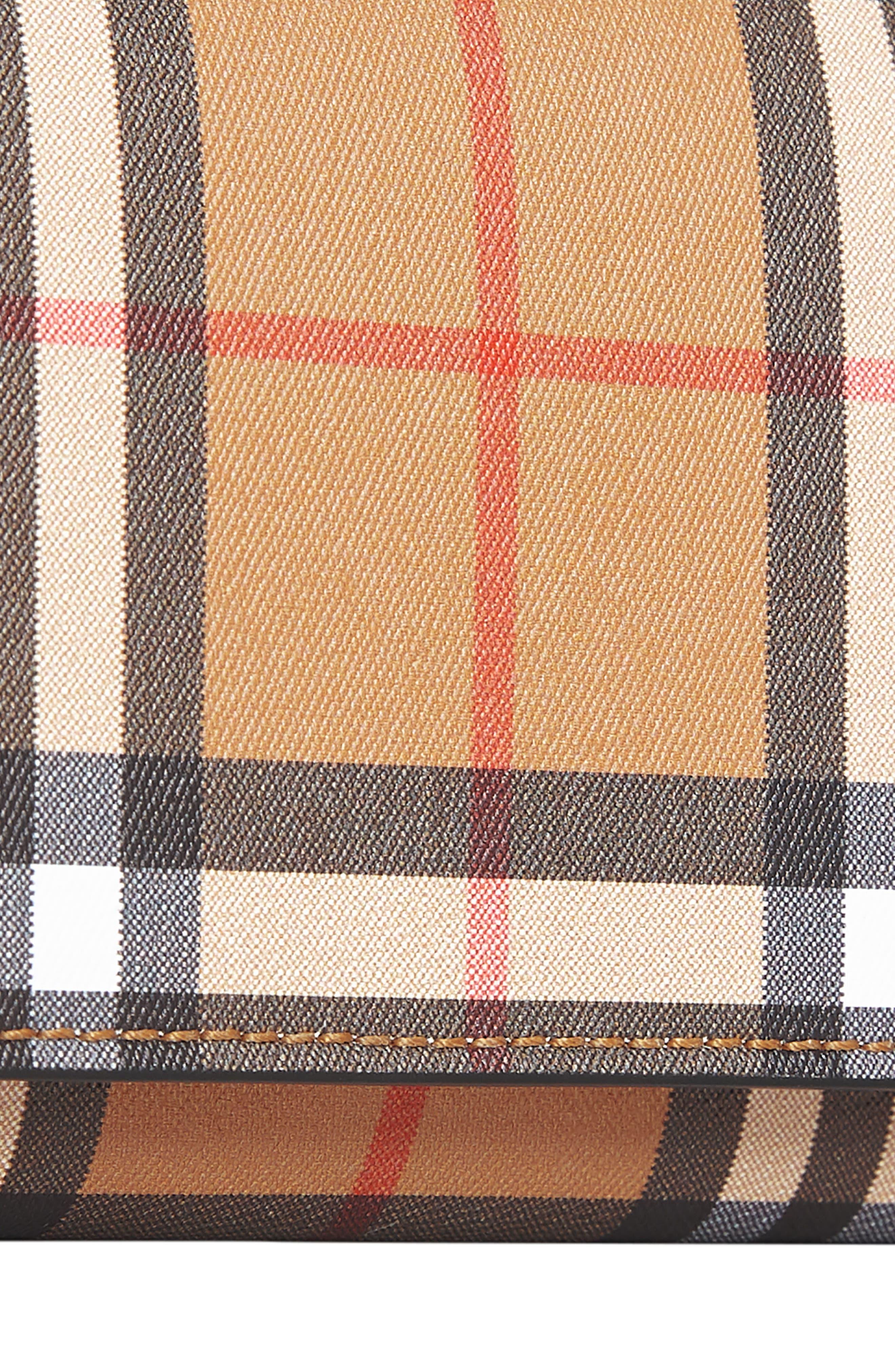 Kenton Check Wallet,                             Alternate thumbnail 6, color,                             Black