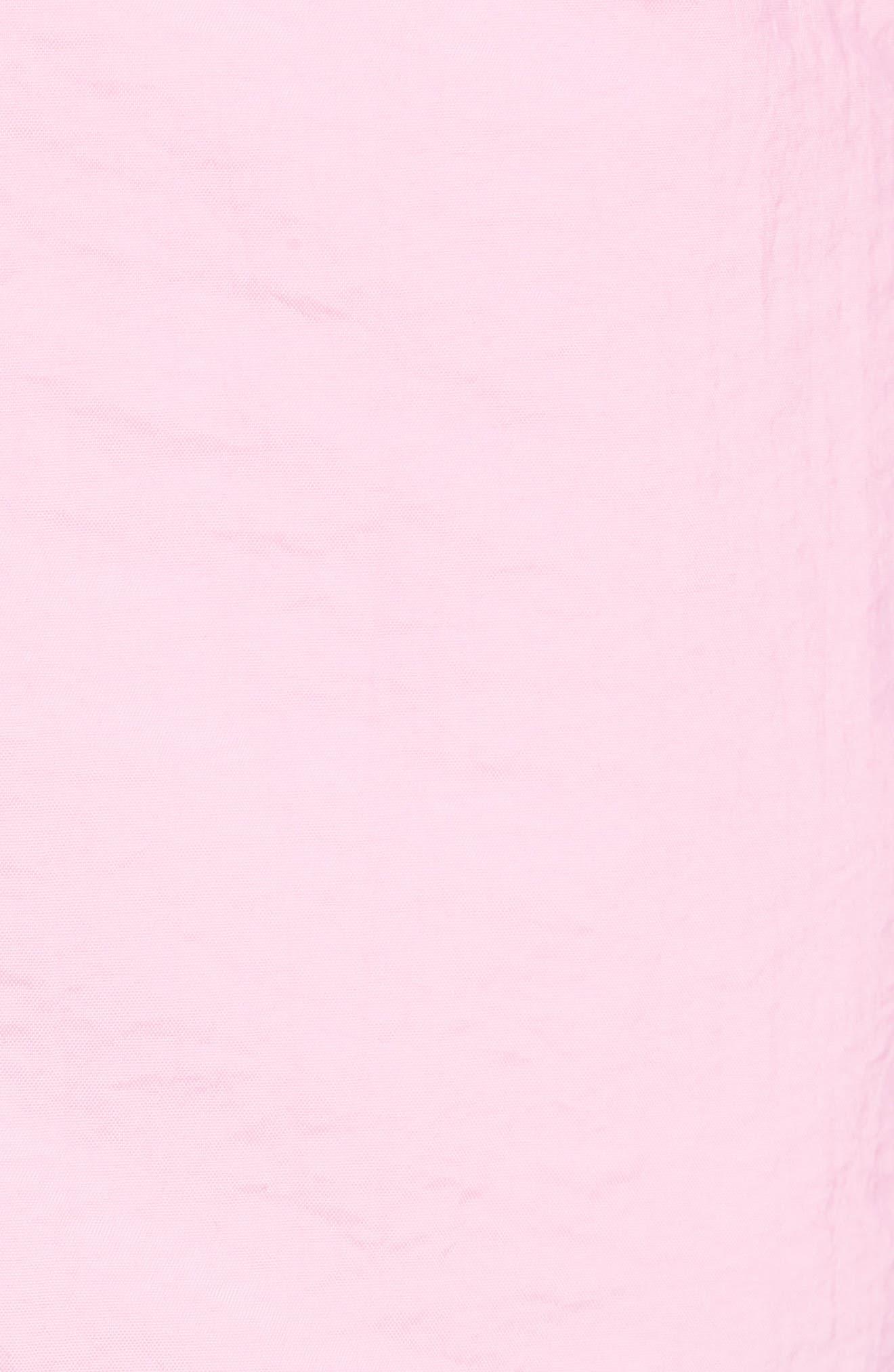 Solid Swim Trunks,                             Alternate thumbnail 5, color,                             Rose