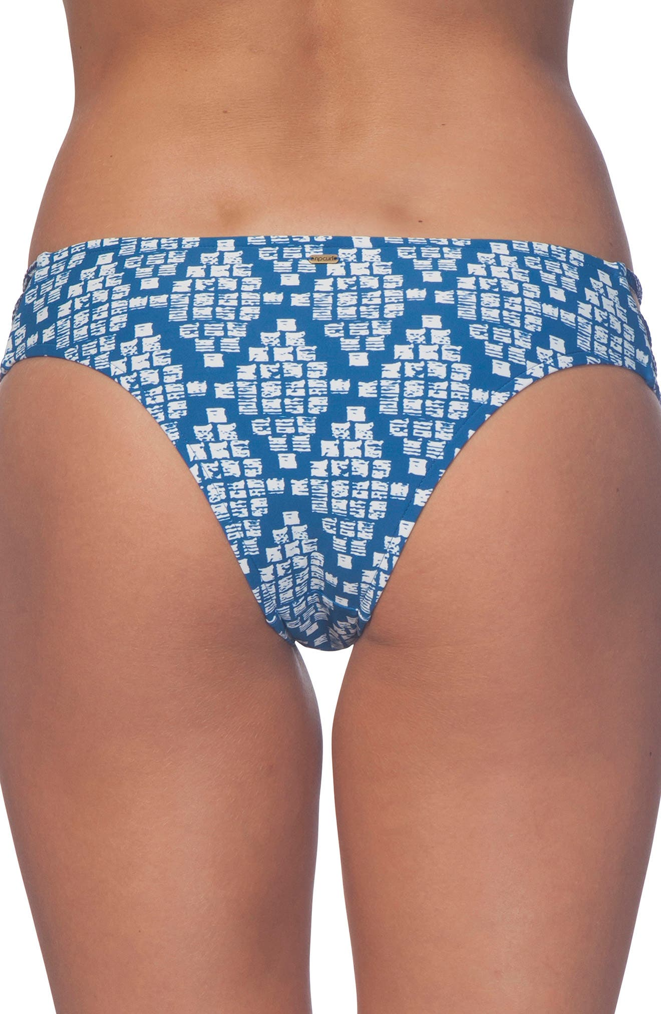 South Winds Luxe Hipster Bikini Bottoms,                             Alternate thumbnail 2, color,                             Blue