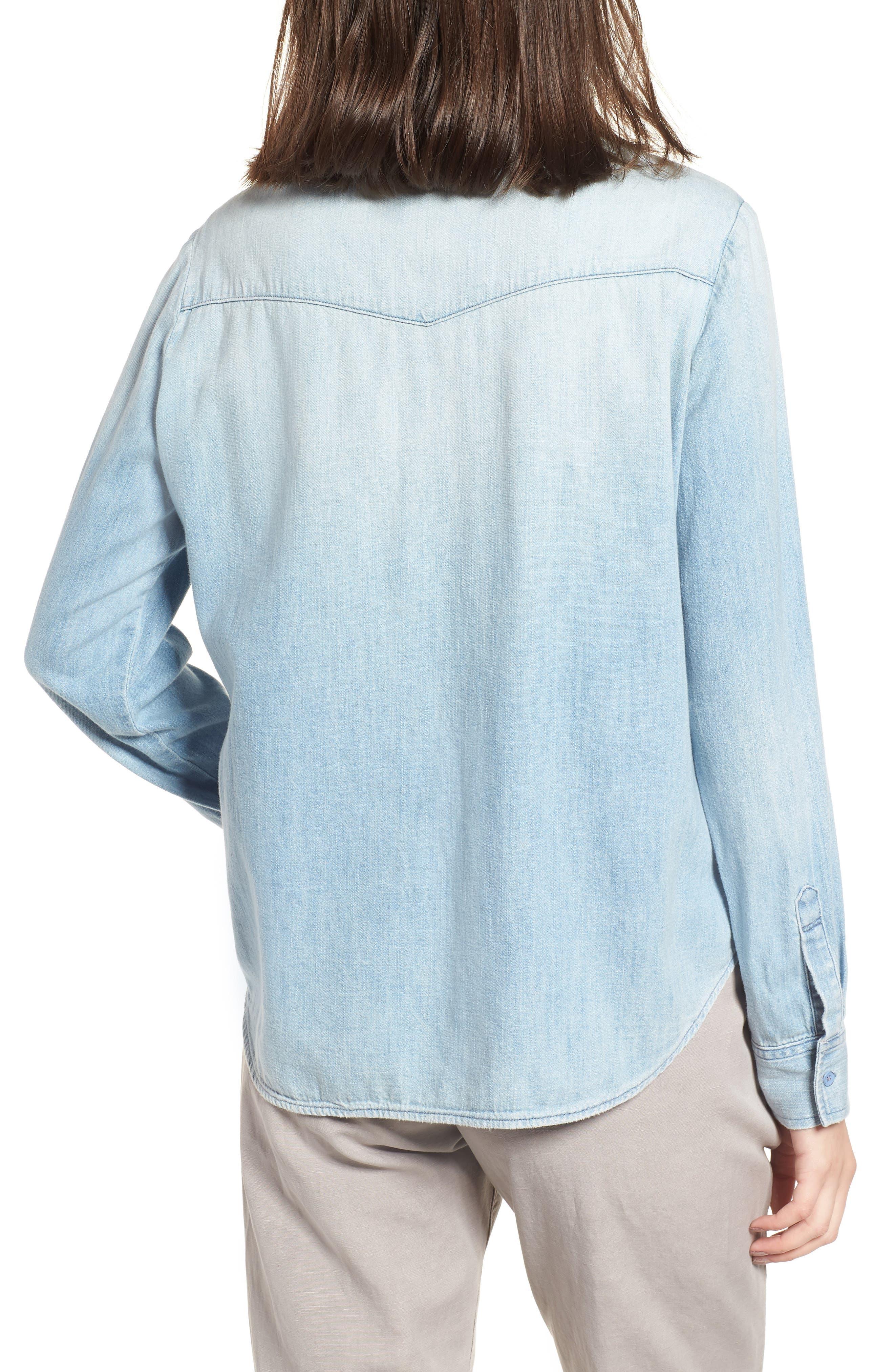 Alternate Image 2  - AG Deanna Denim Shirt