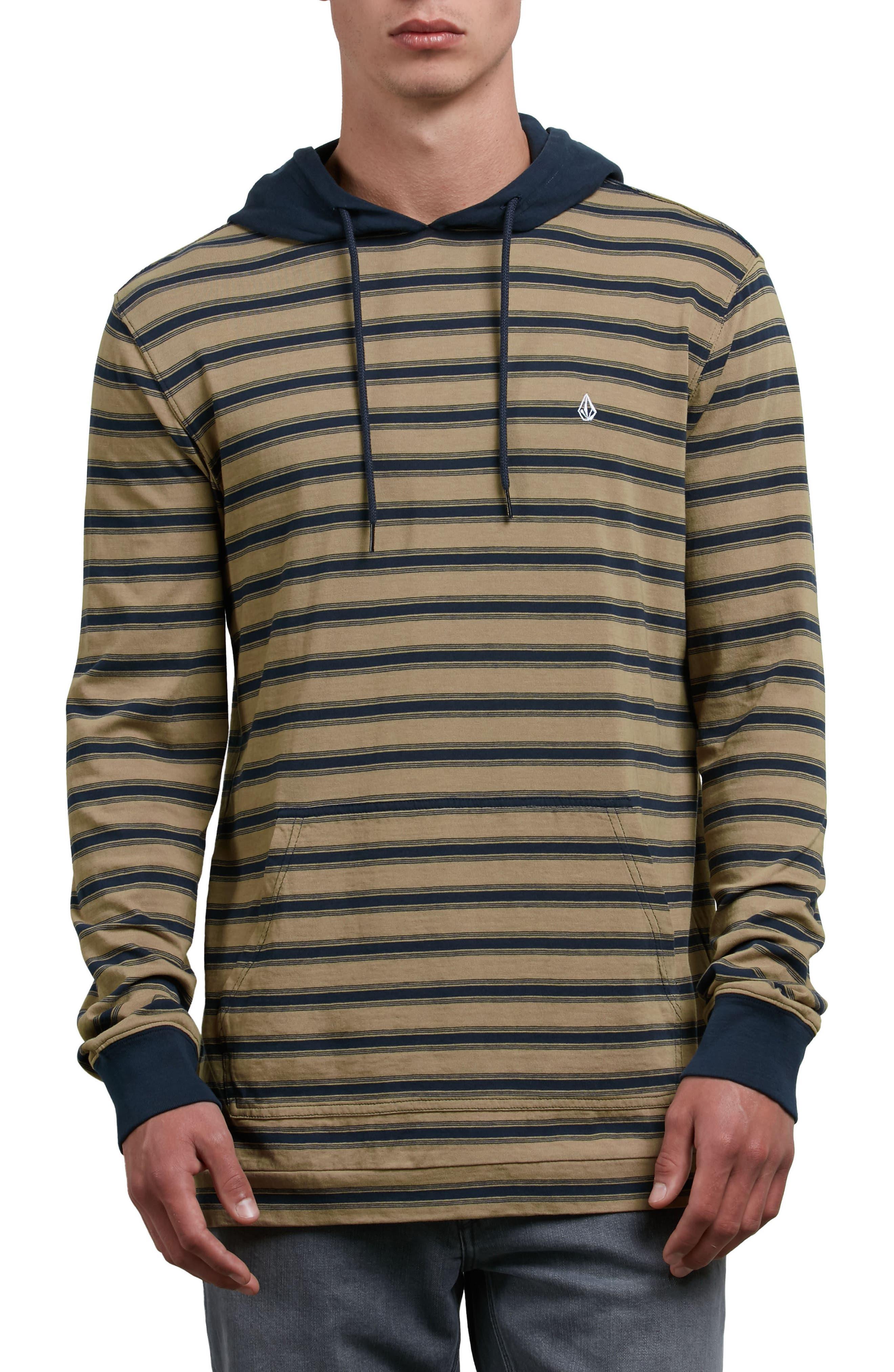 Alternate Image 1 Selected - Volcom Briggs Stripe Hoodie