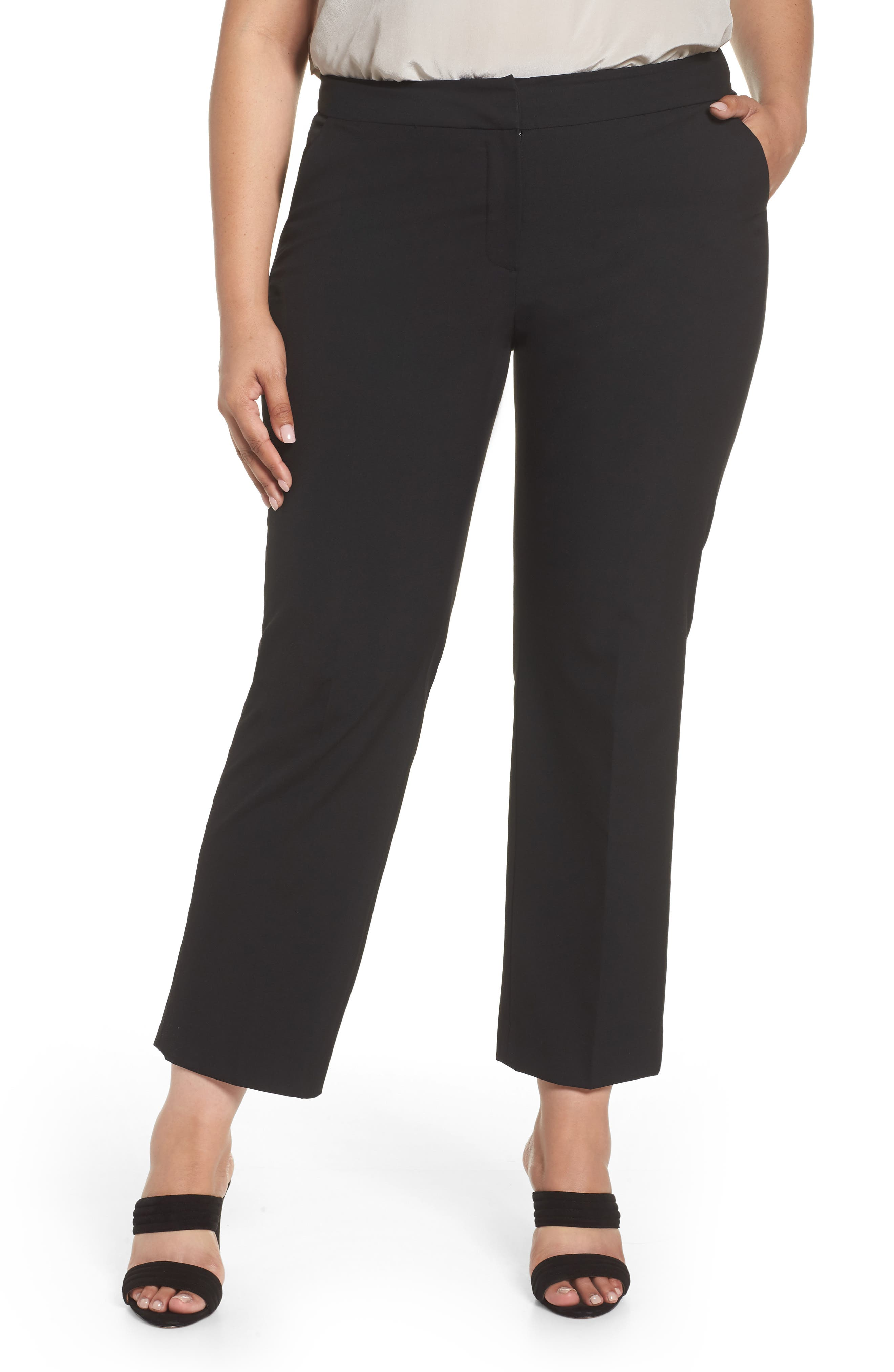 Sejour Riley Baby Bootcut Pants (Plus Size)