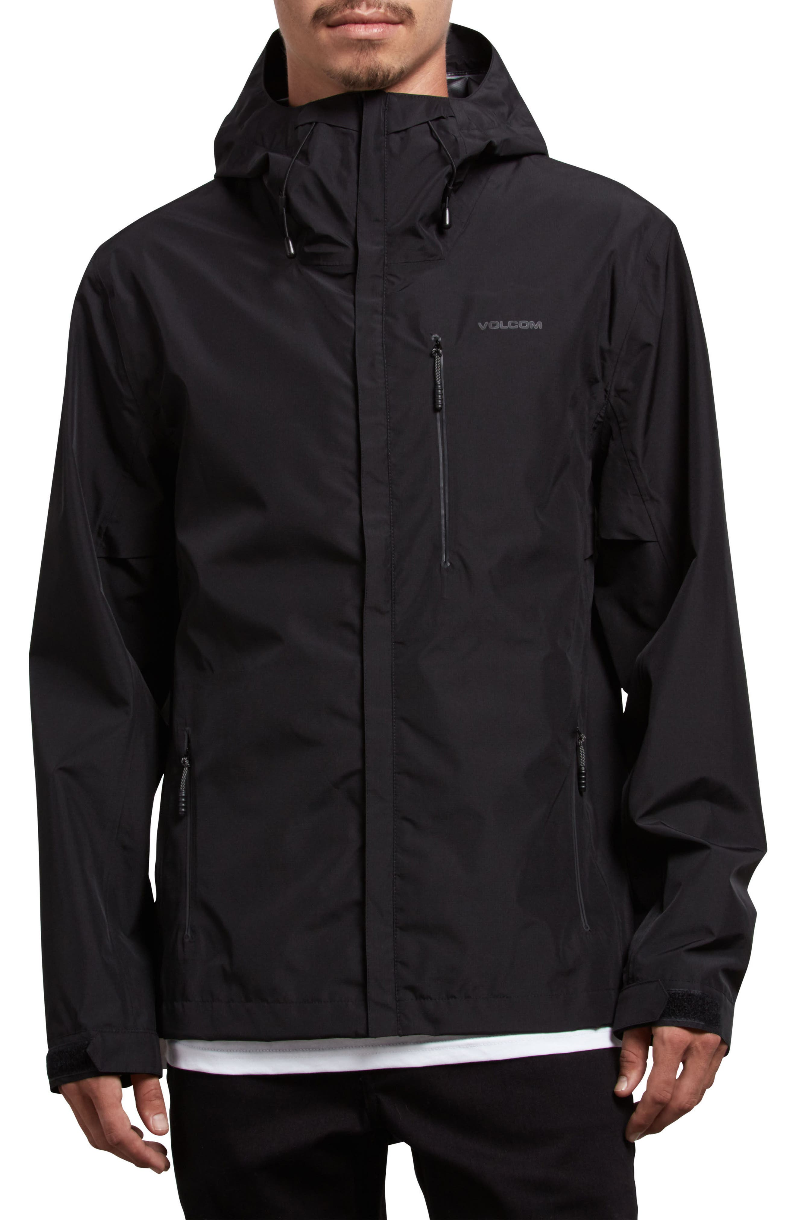 Stone Storm Jacket,                         Main,                         color, Black