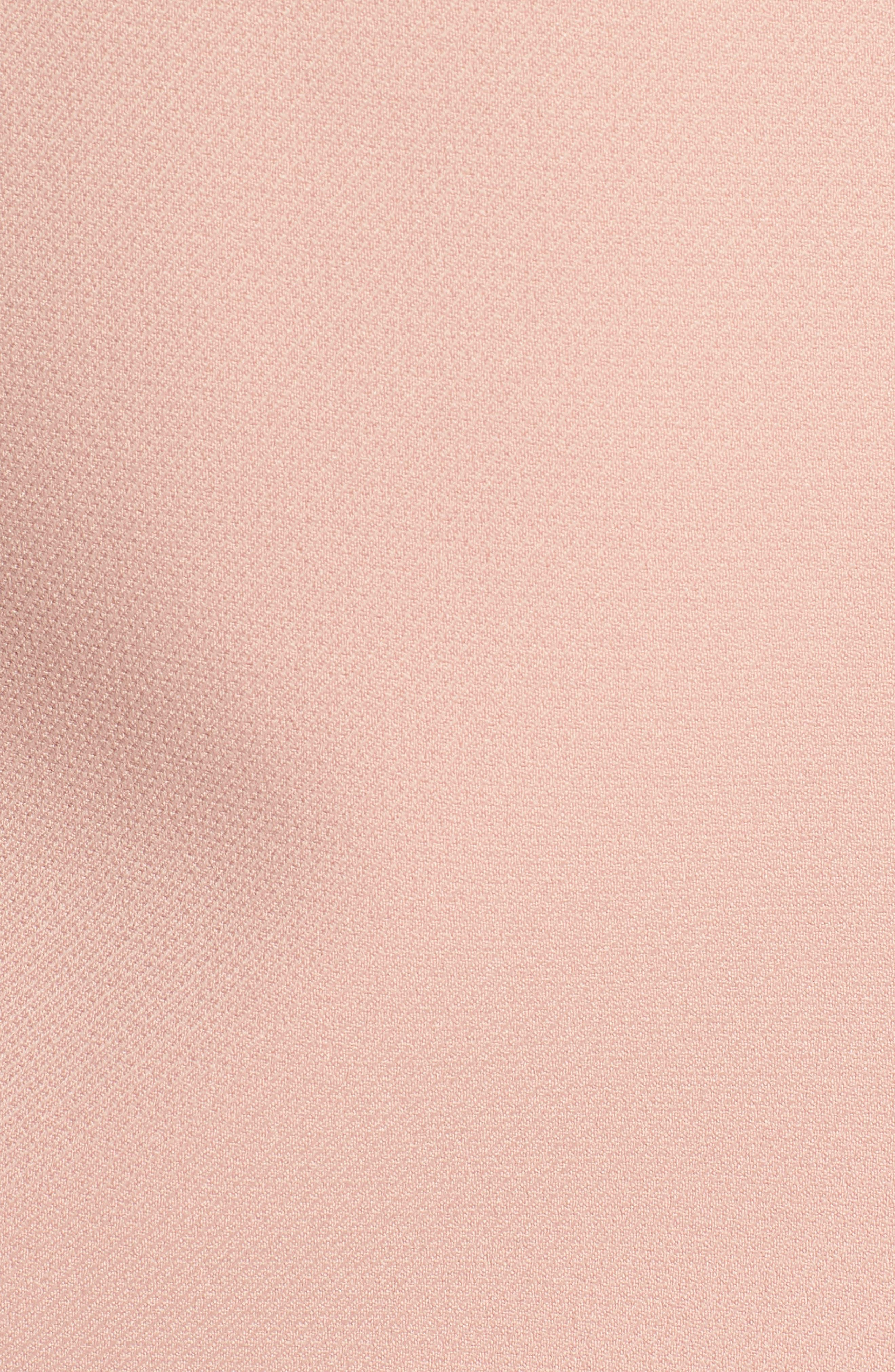 Duleama Compact Twill Dress,                             Alternate thumbnail 6, color,                             Blush