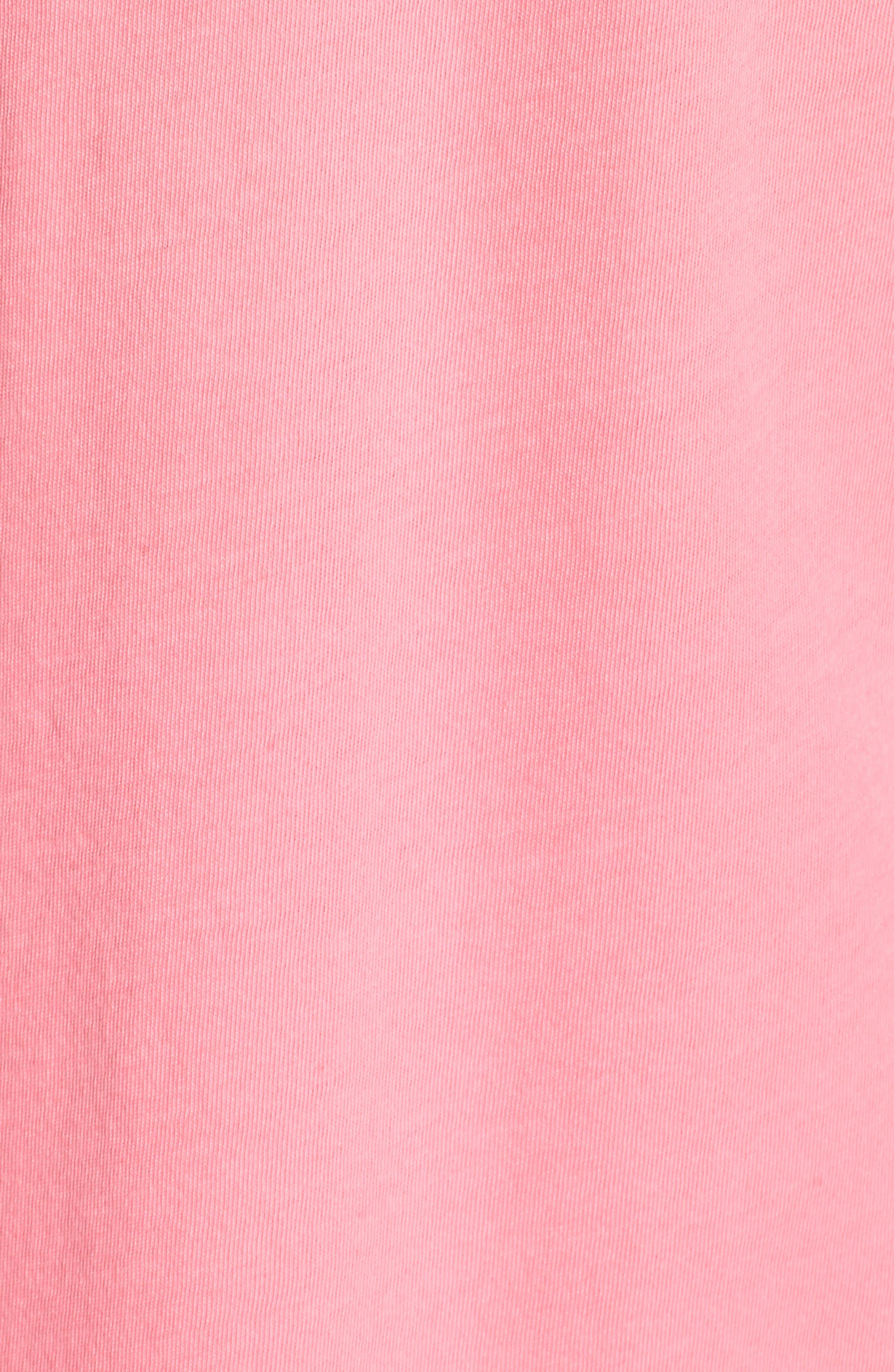 Vintage Whale Tee,                             Alternate thumbnail 6, color,                             Malibu Pink