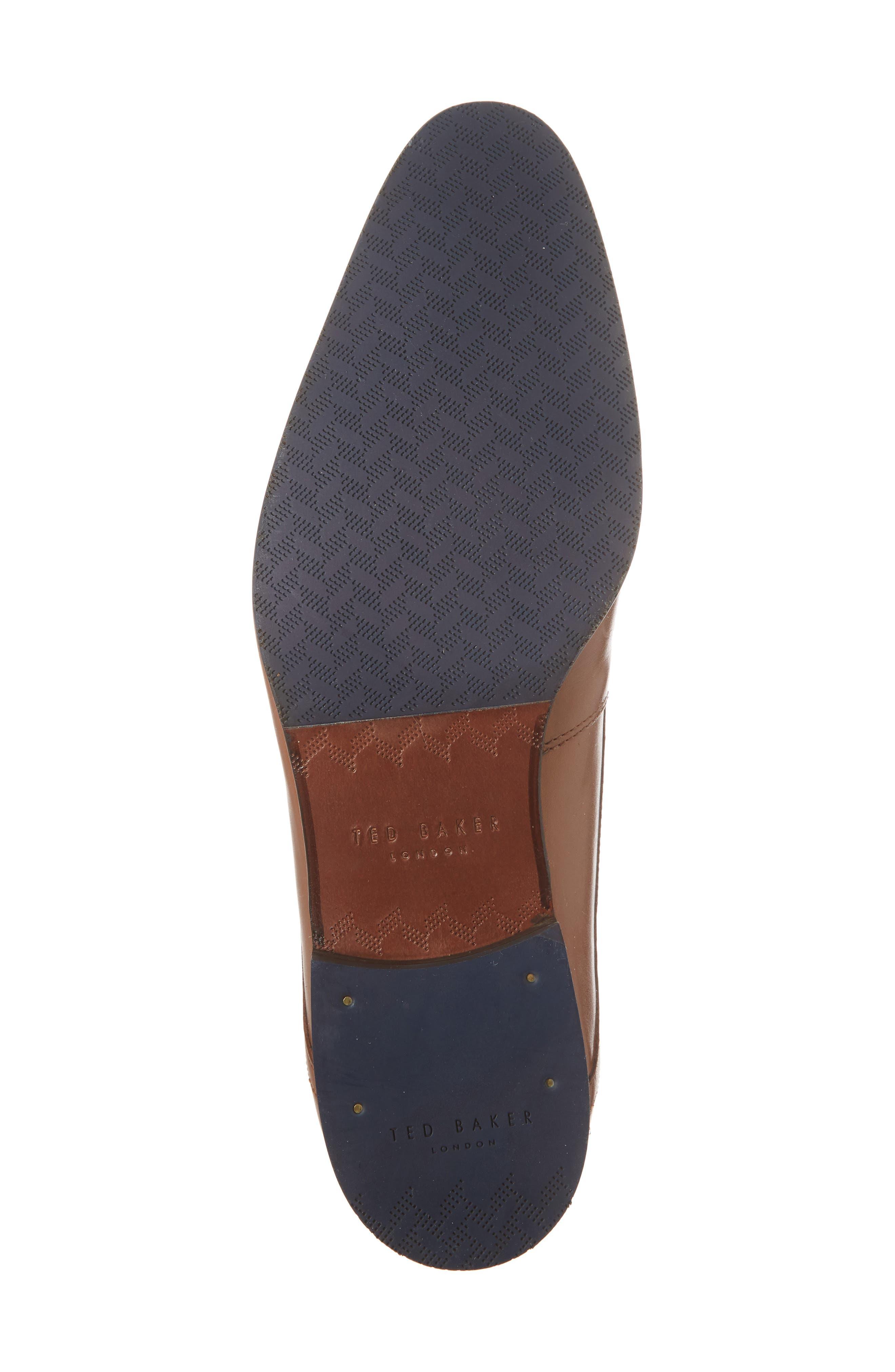 Bhartli Plain Toe Derby,                             Alternate thumbnail 6, color,                             Tan Leather