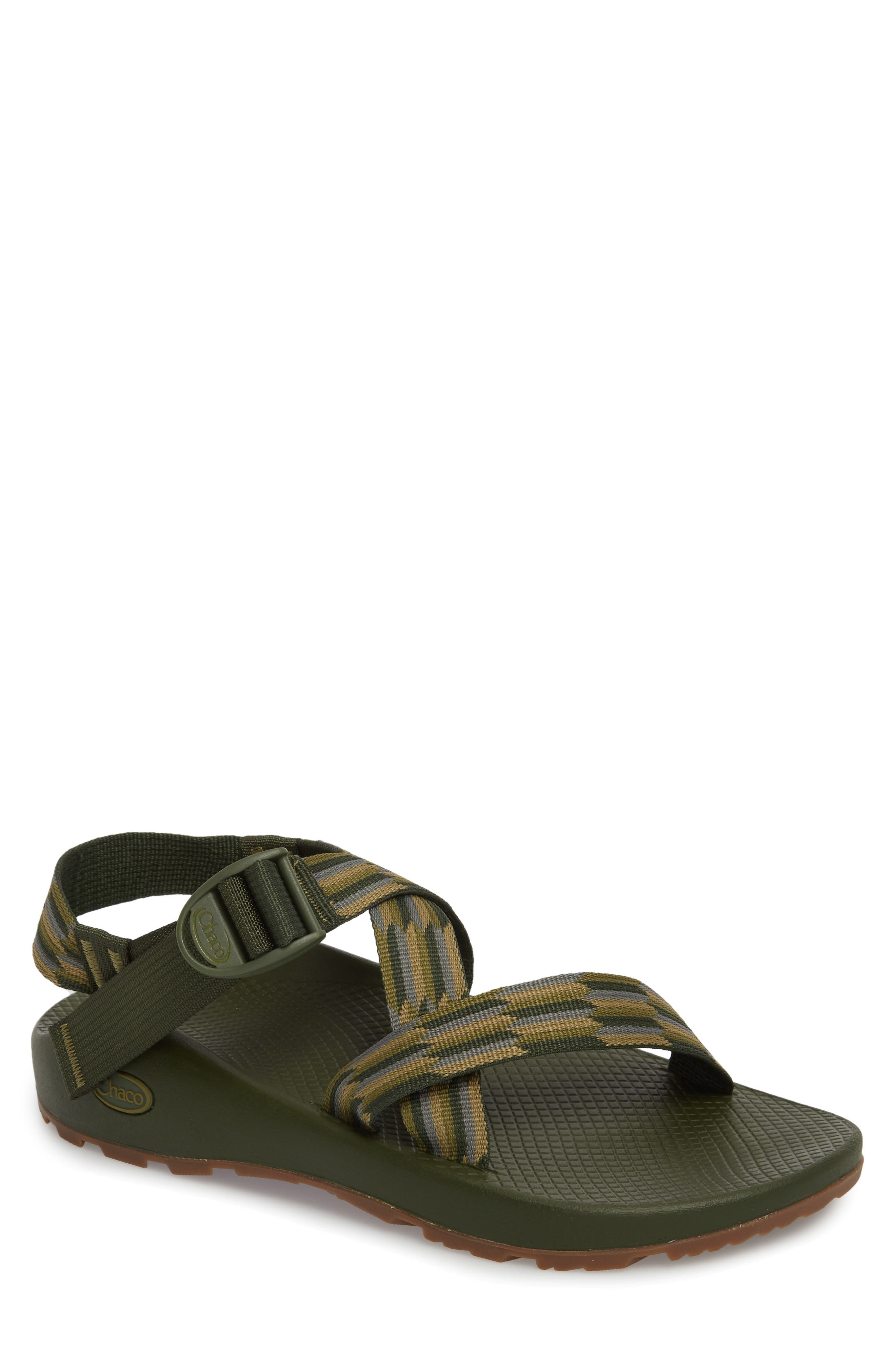 Z/1 Classic Sport Sandal,                         Main,                         color, Accordian Green