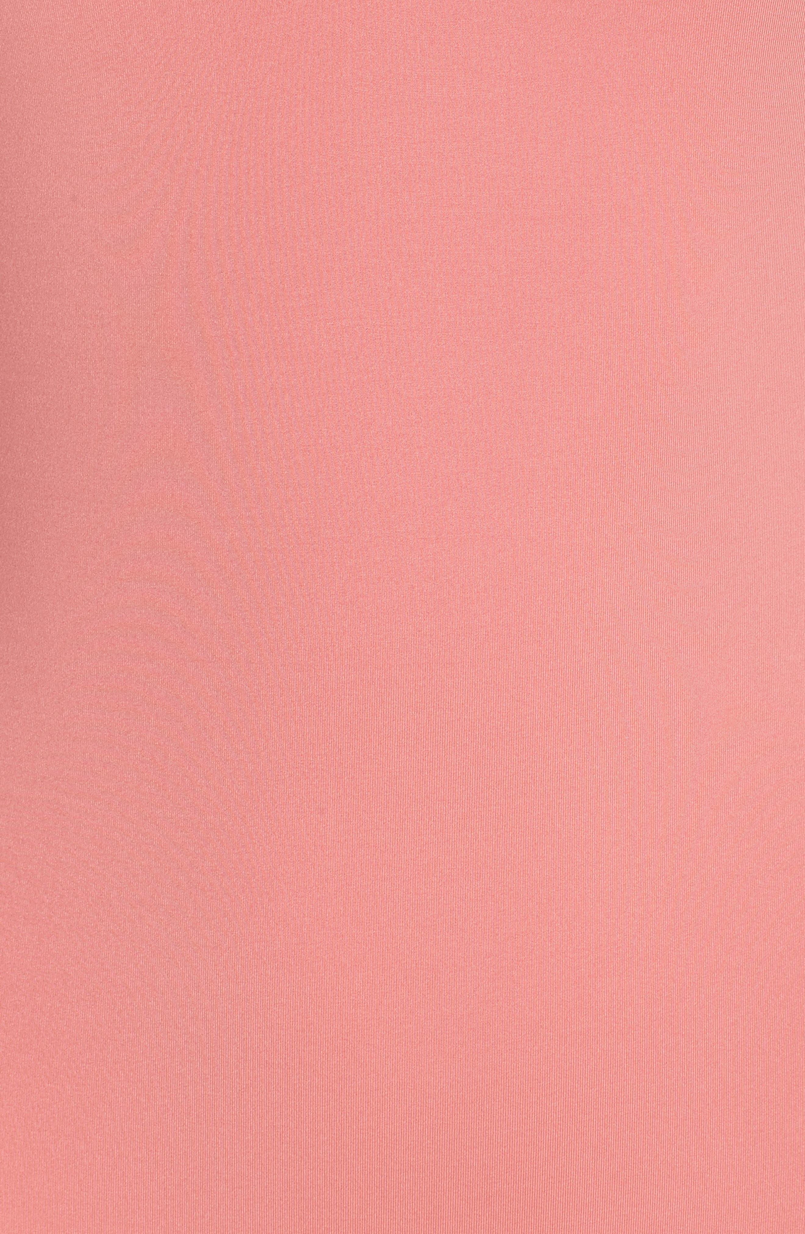 Playa Montauk Strappy One-Piece Swimsuit,                             Alternate thumbnail 5, color,                             Vintage Pink Multi