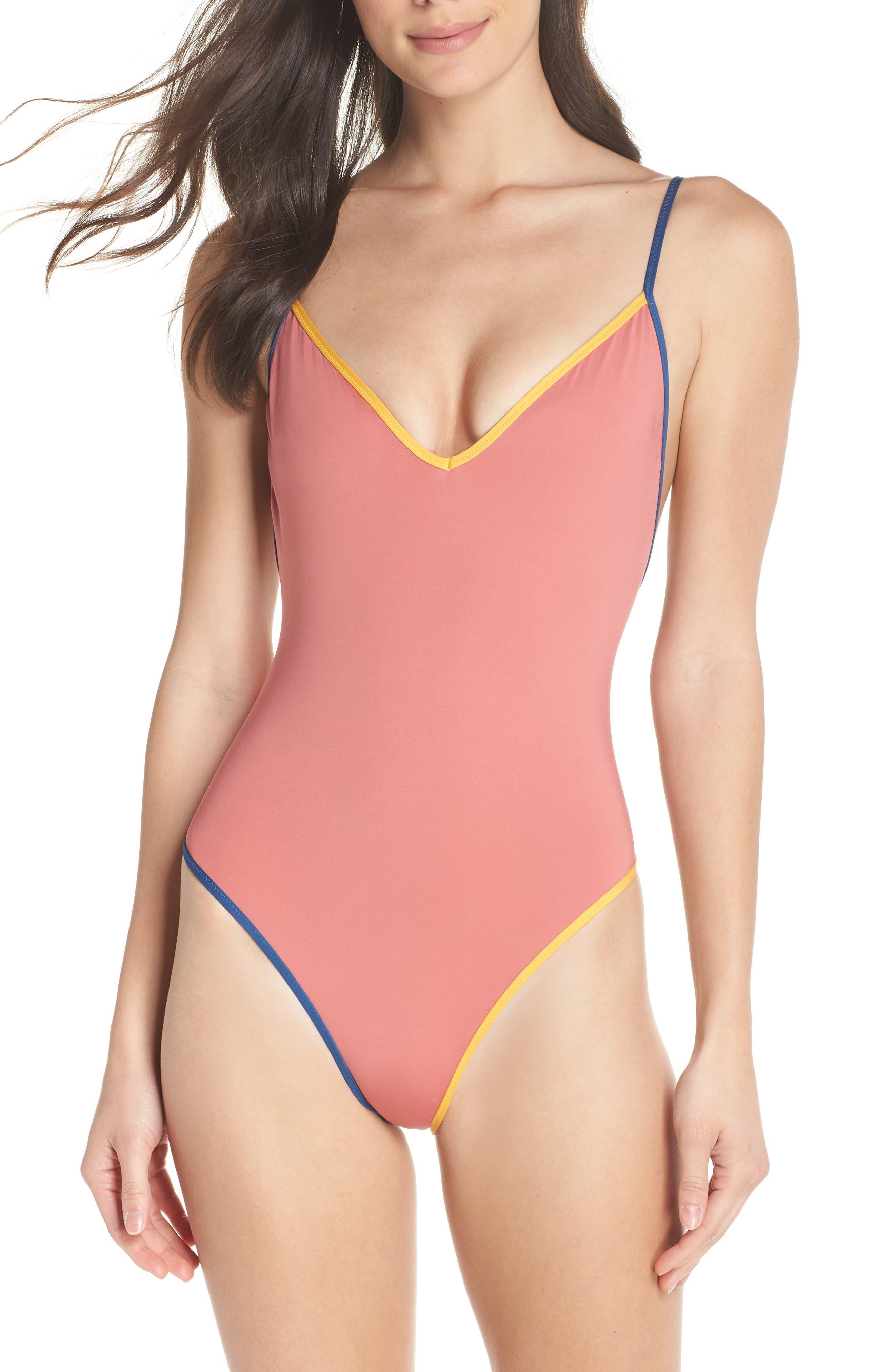 J.Crew Playa Montauk Strappy One-Piece Swimsuit