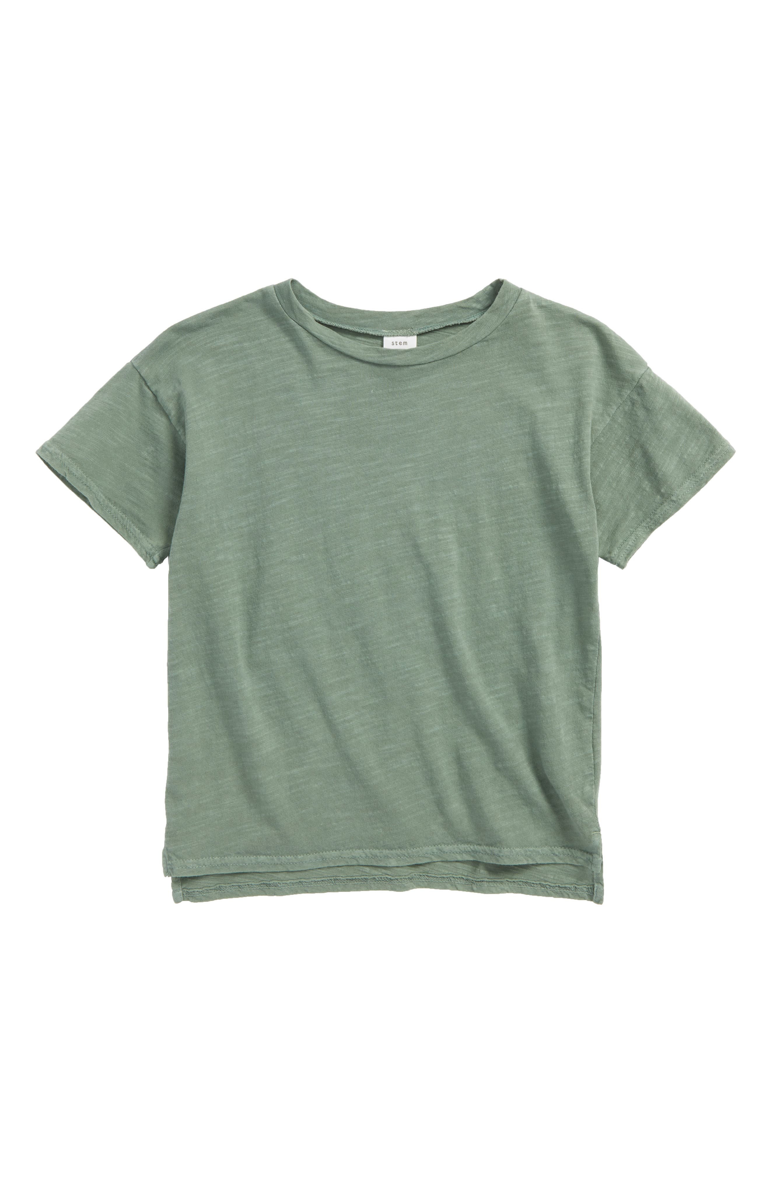 Stem Short Sleeve Cotton T-Shirt (Toddler Boys, Little Boys & Big Boys)