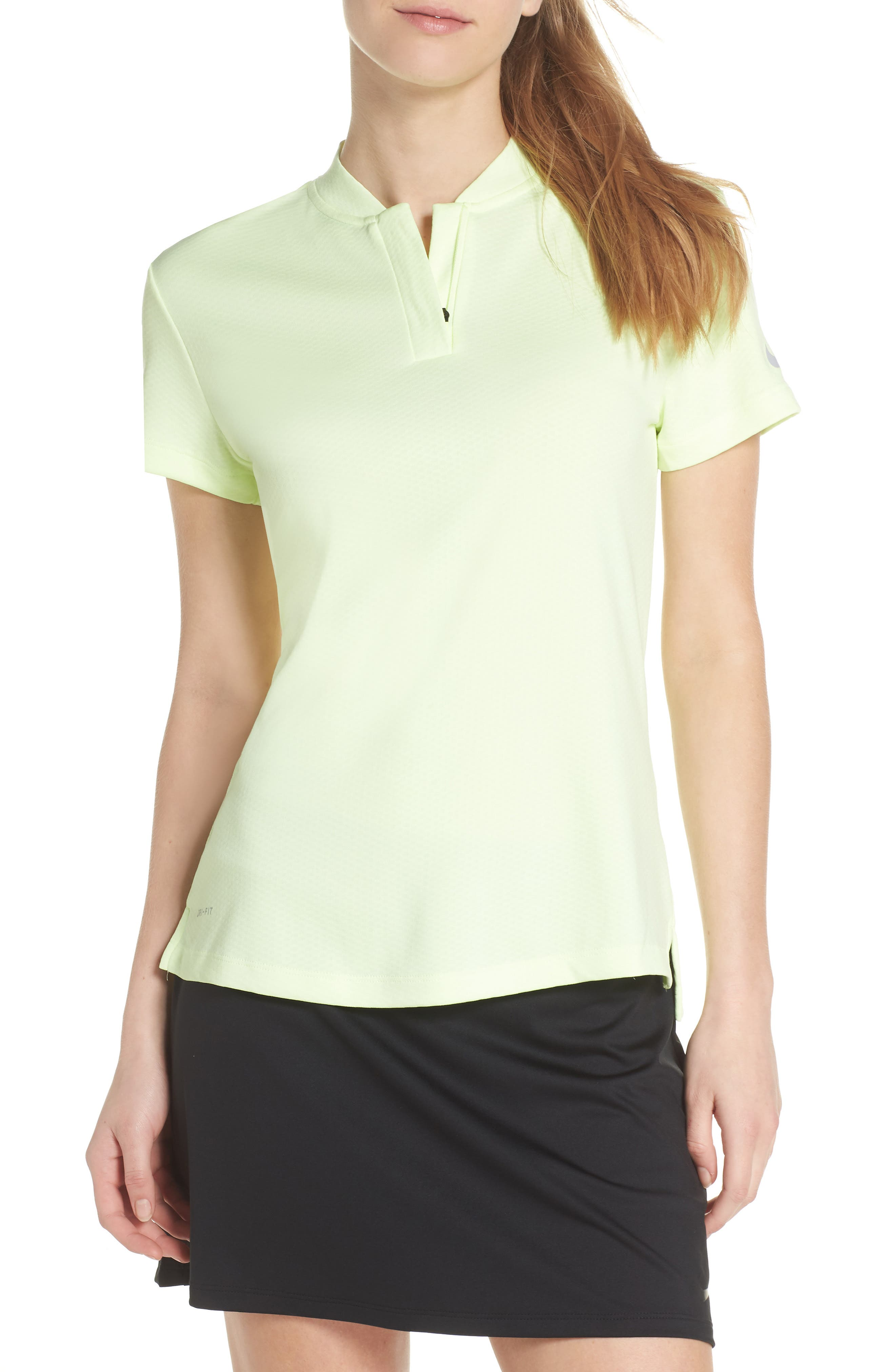 Dry Gold Polo,                             Main thumbnail 1, color,                             Barely Volt/ Silver