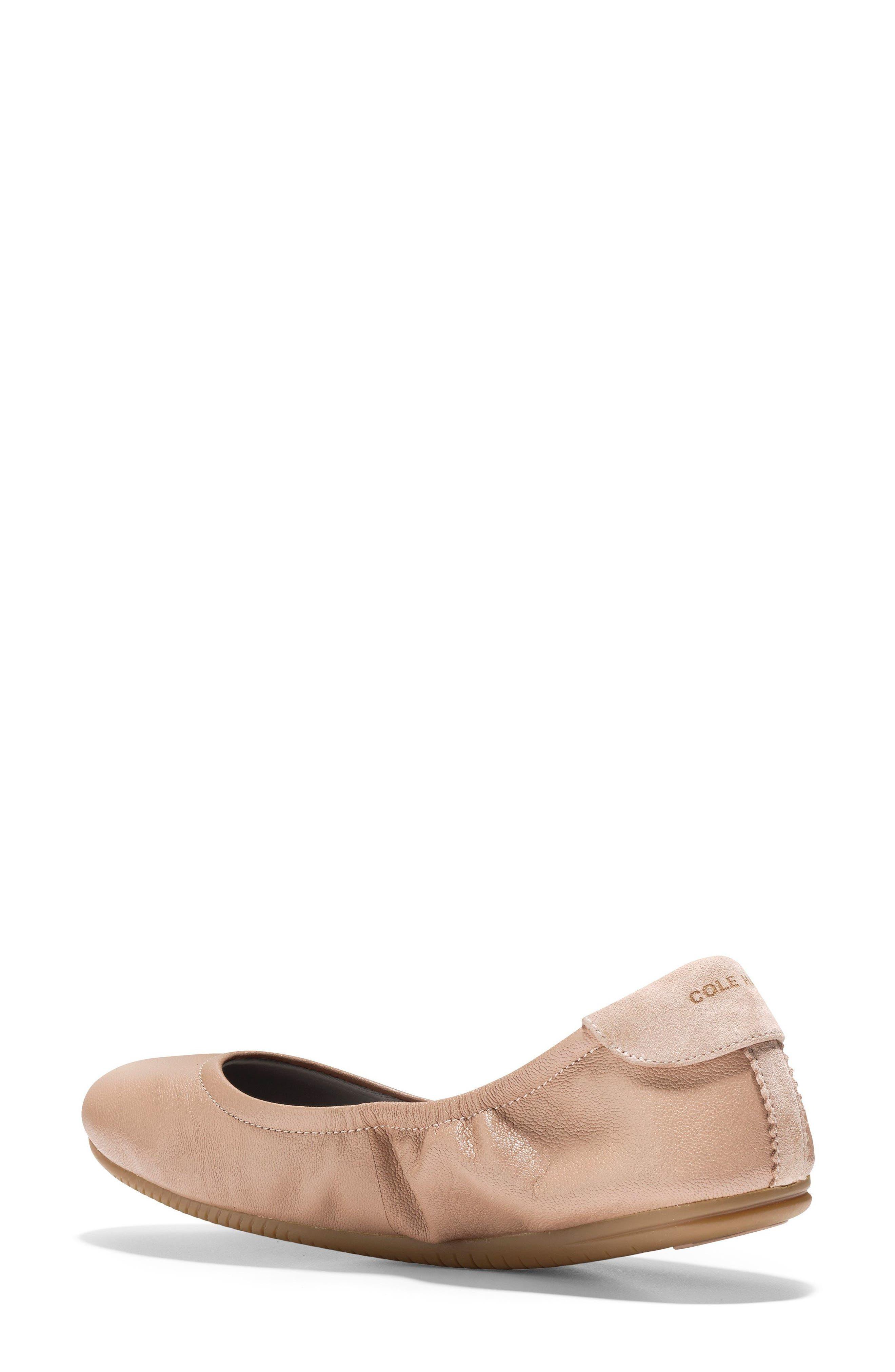 Studiogrand Ballet Flat,                             Alternate thumbnail 2, color,                             Maple Sugar Leather