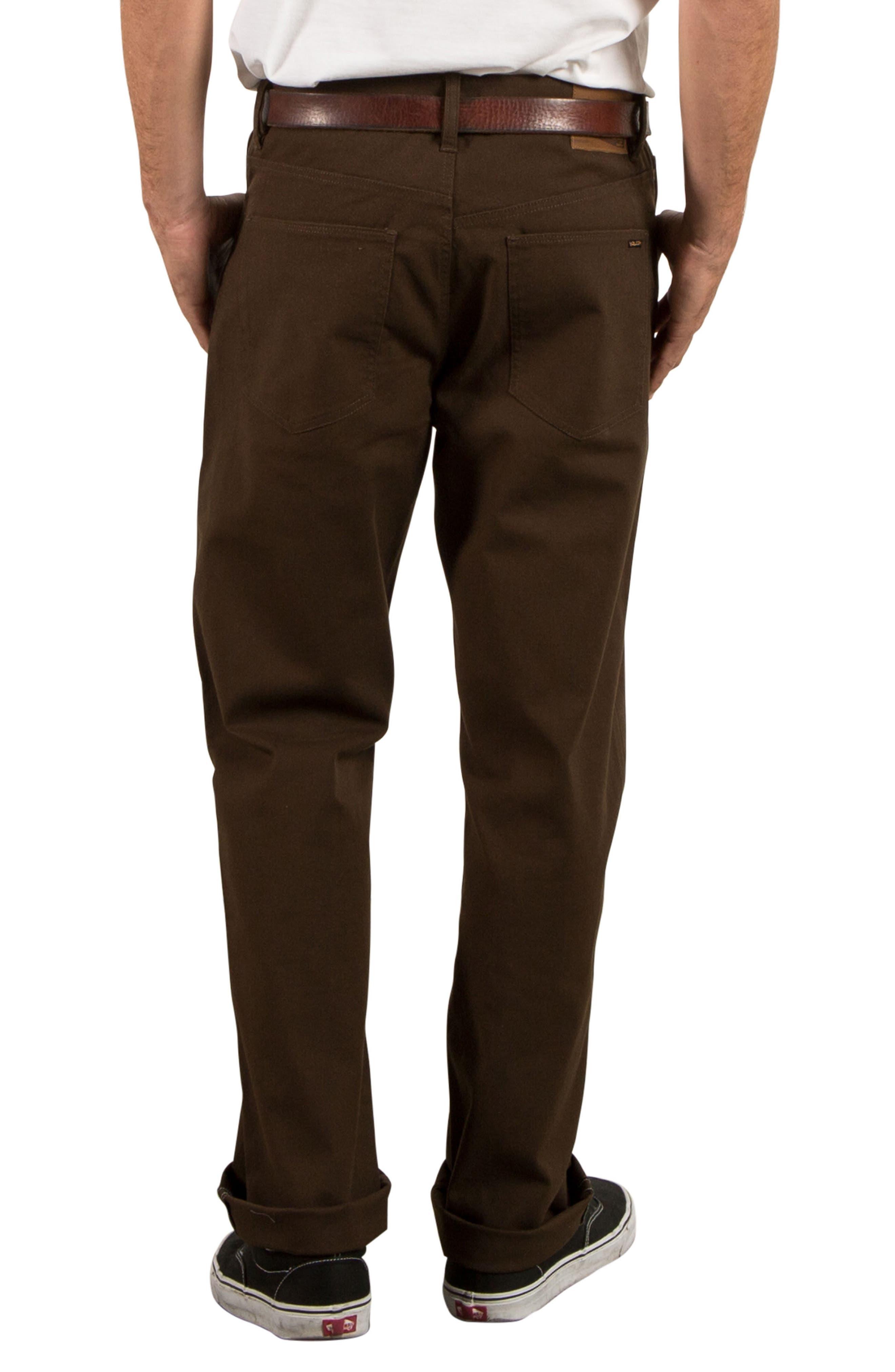 Kinkade Five-Pocket Thrifter Pants,                             Alternate thumbnail 2, color,                             Dark Chocolate