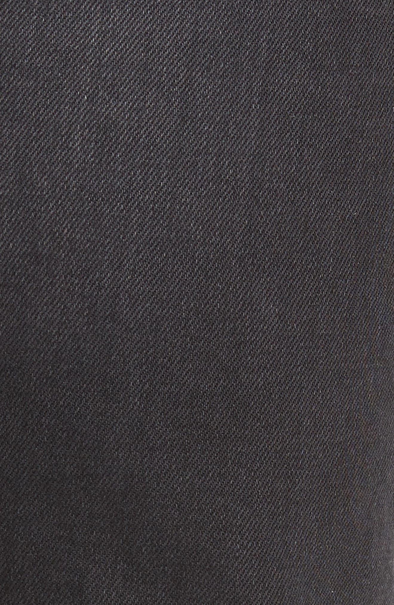 Side Straight Leg Jeans,                             Alternate thumbnail 5, color,                             Lyric