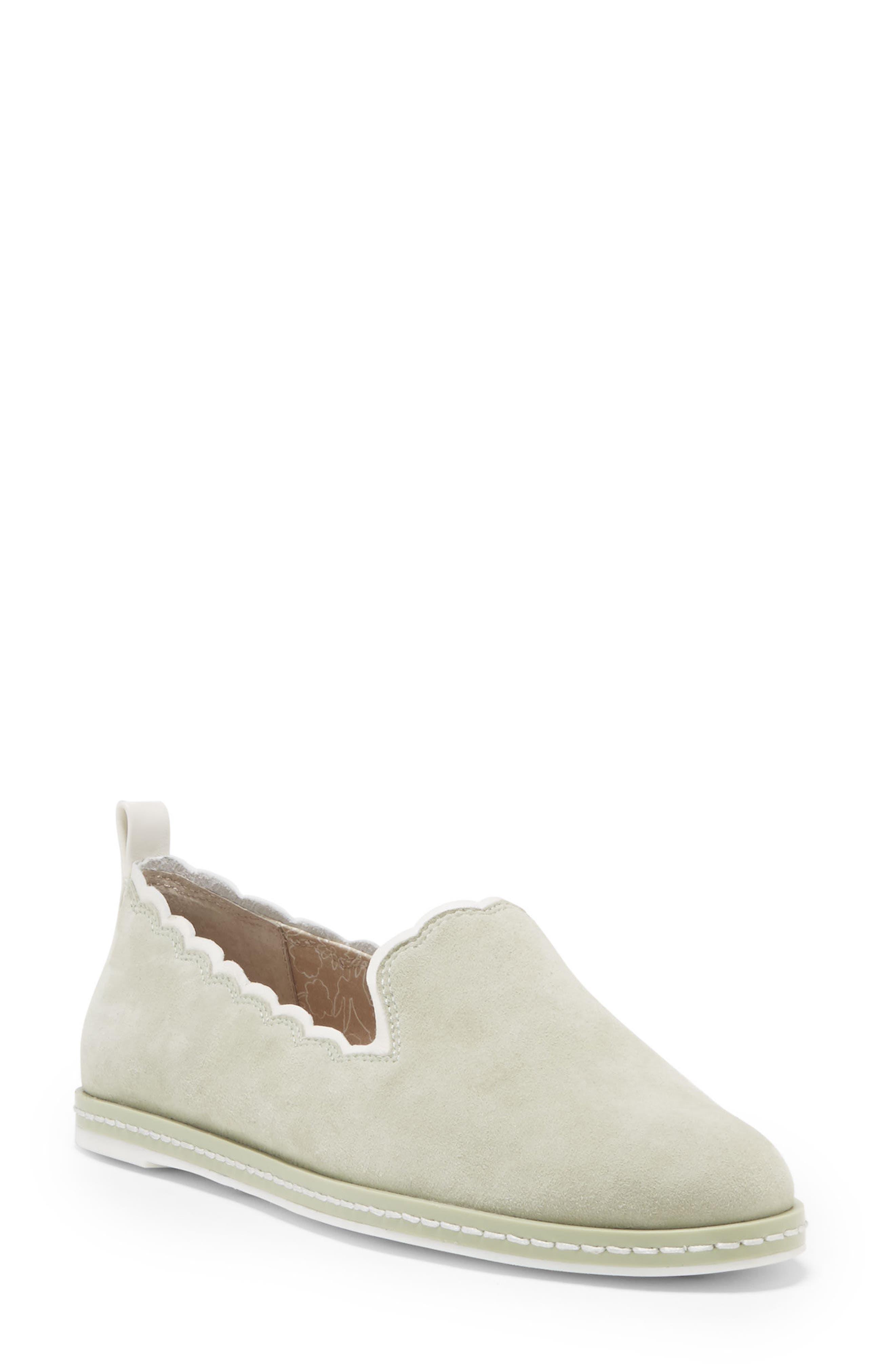 ED Ellen DeGeneres Naleena Scallop Edge Slip-On Shoe (Women)