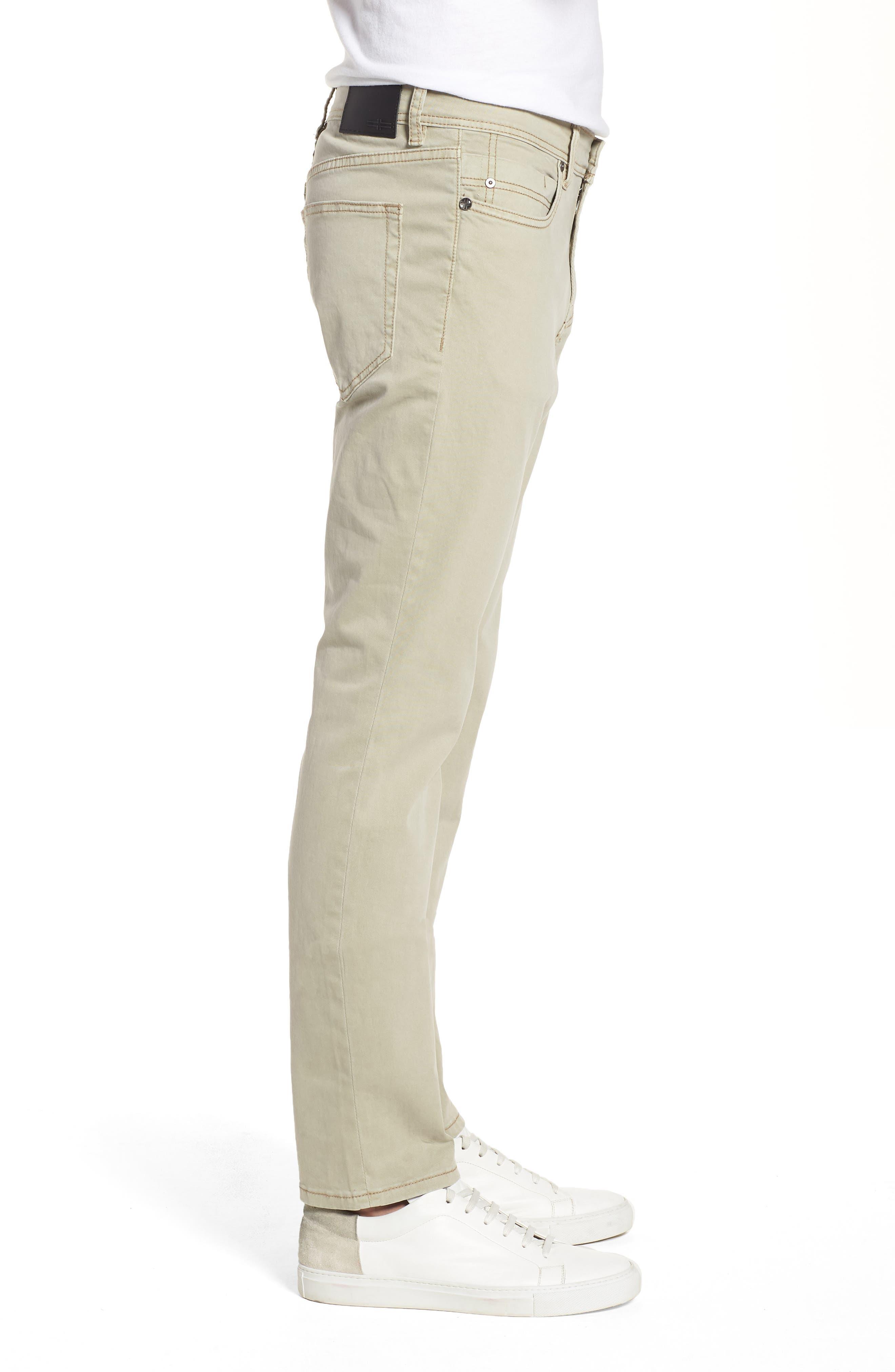 Jeans Co. Slim Straight Leg Jeans,                             Alternate thumbnail 3, color,                             Sandstrom