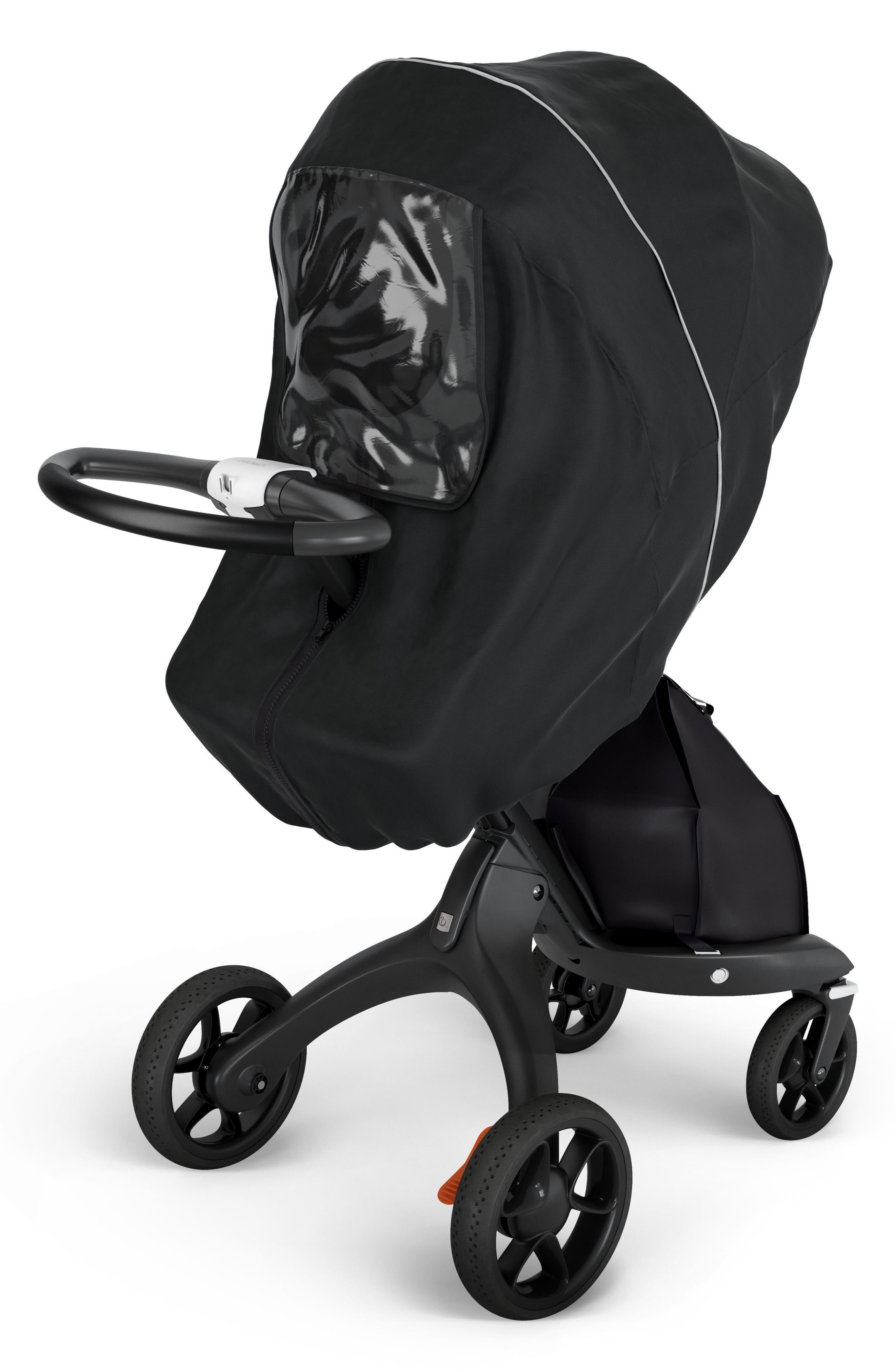Xplory<sup>®</sup> Stroller Rain Cover,                         Main,                         color, Black