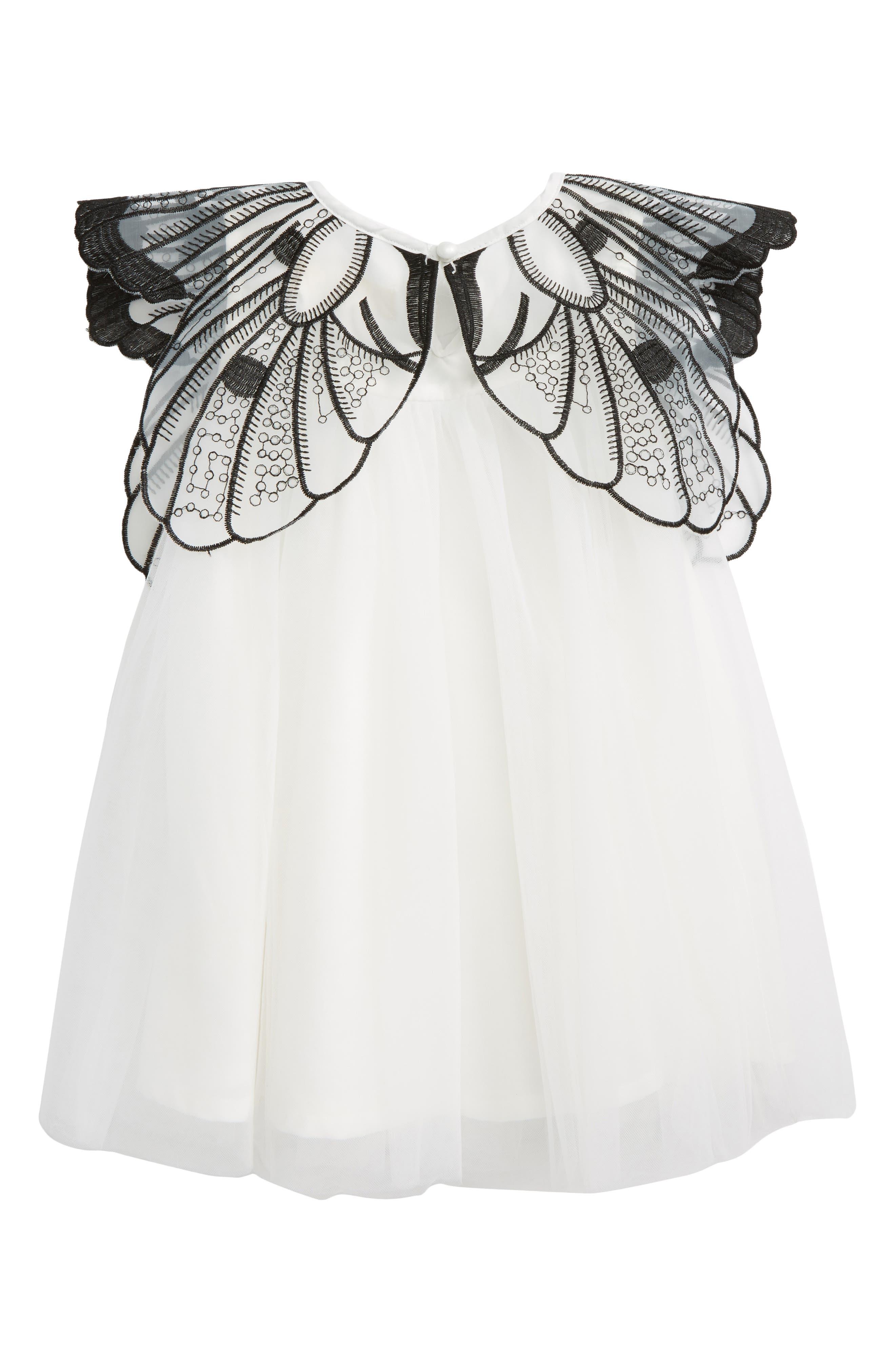 Alternate Image 2  - Doe A Dear Butterfly Dress (Baby Girls)