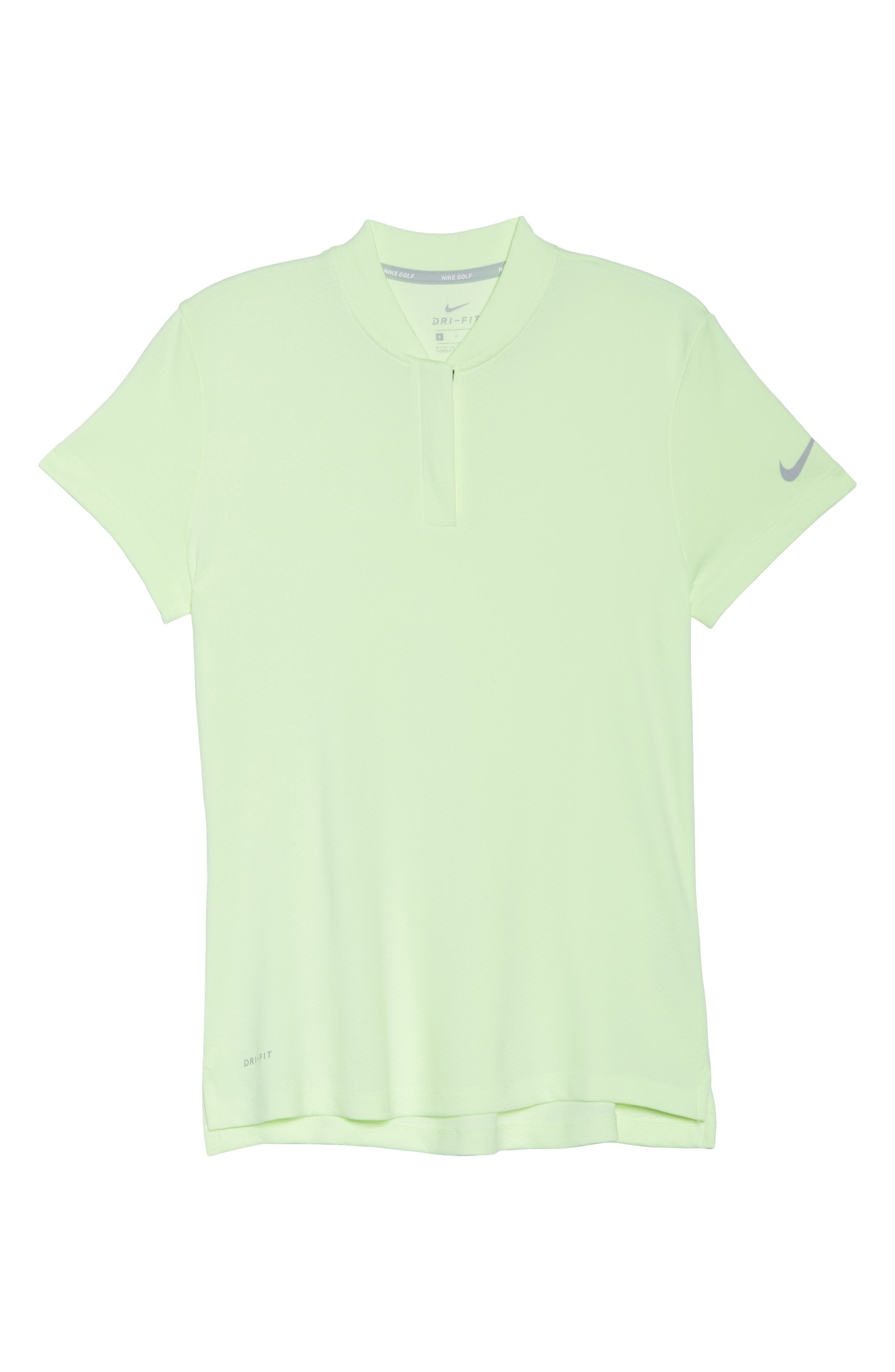 Dry Gold Polo,                             Alternate thumbnail 7, color,                             Barely Volt/ Silver